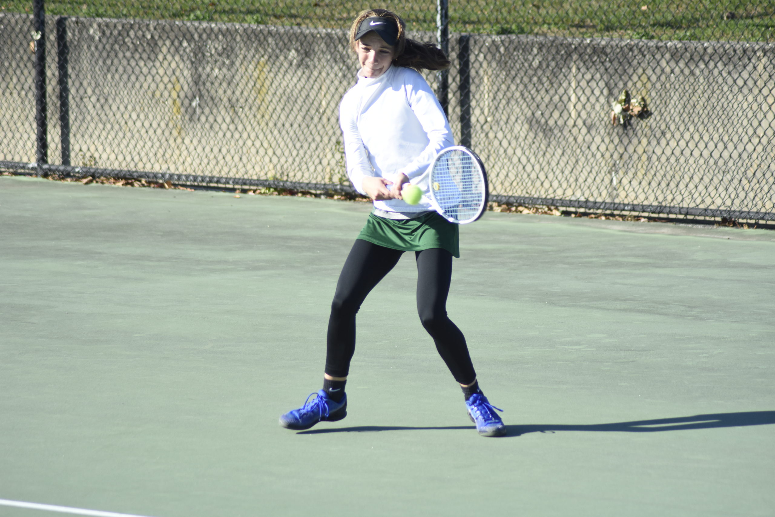 Rose Hayes is the reigning county singles champion and returns to lead the Lady Hurricanes this season.