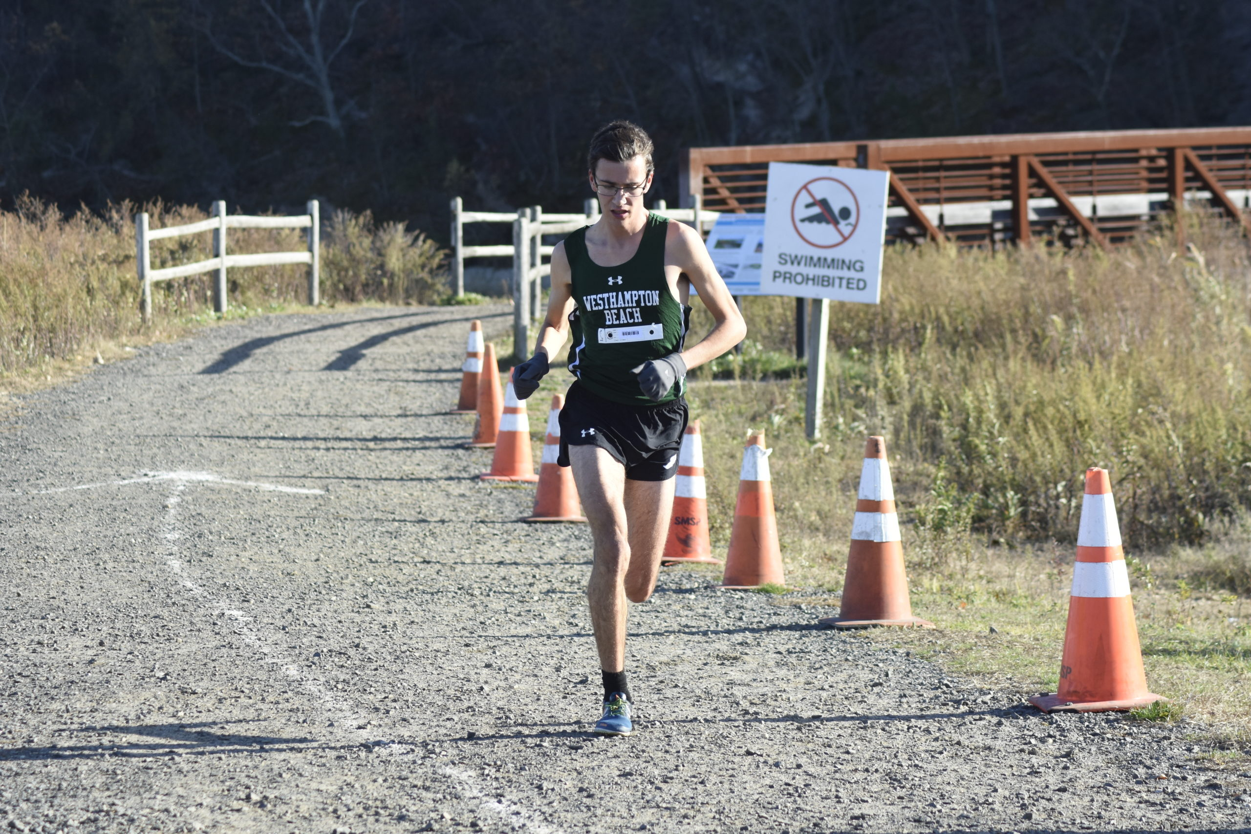 Gavin Ehlers is entering his senior season and will be one of the top runners in Suffolk this fall.