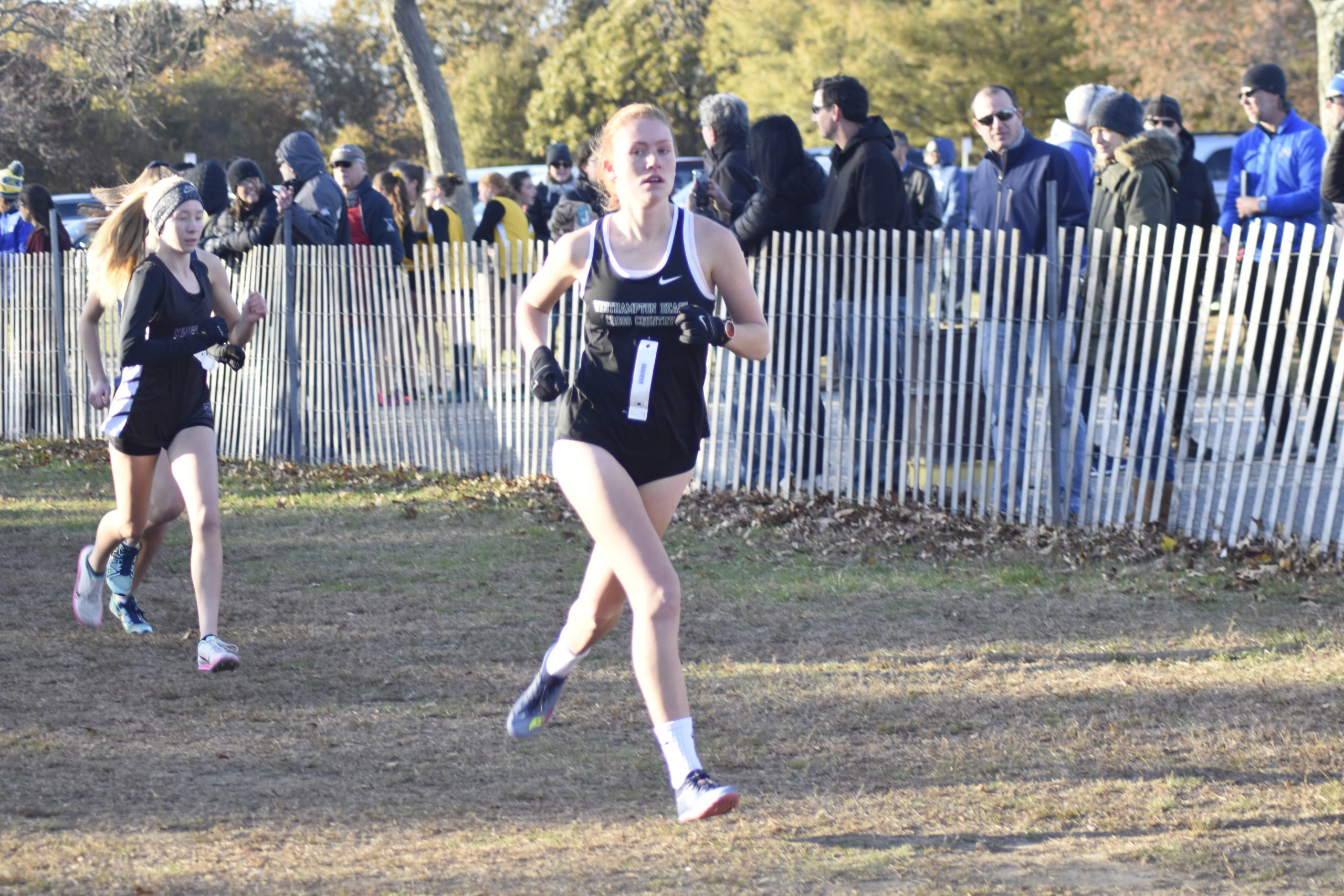 Jackie Amato will lead the Westhampton Beach girls cross country team.