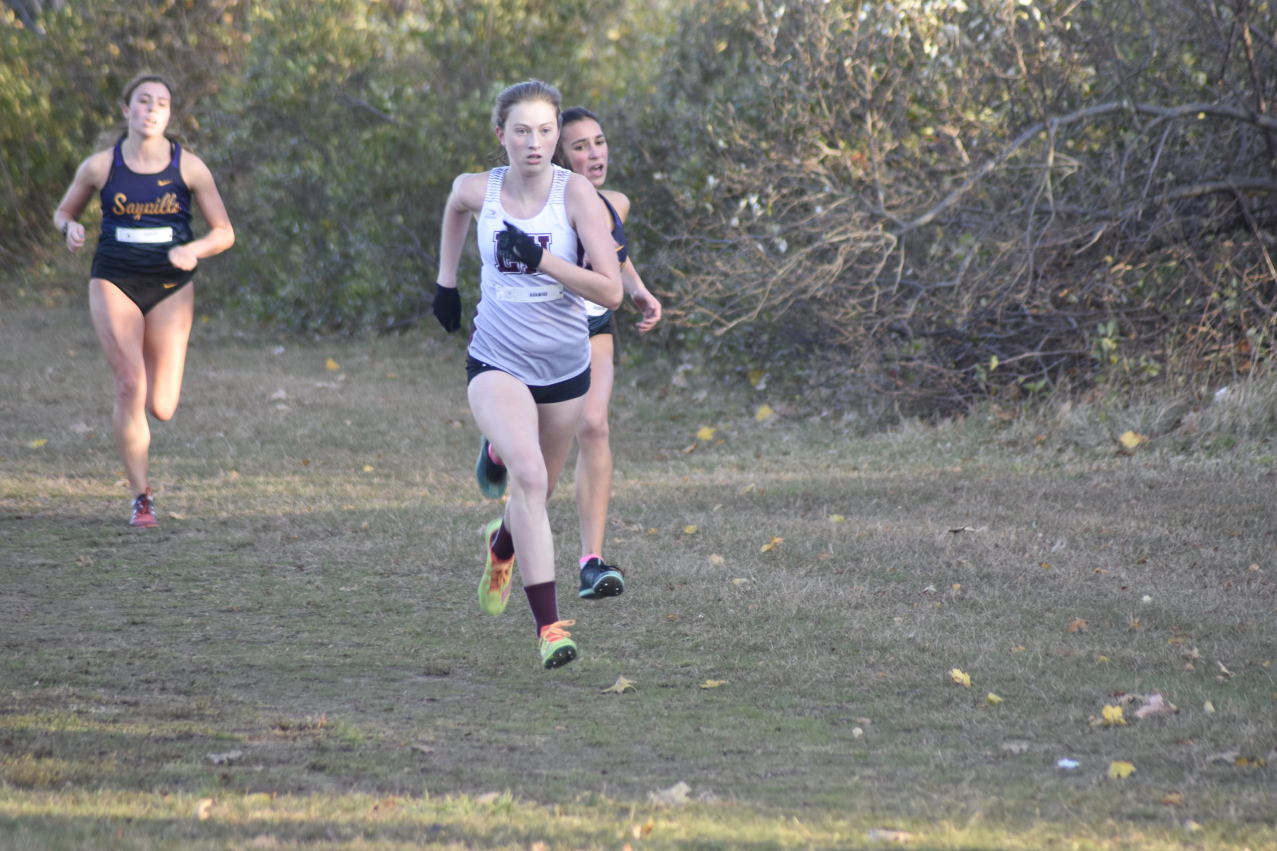 Ava Engstrom will lead the East Hampton girls cross country team.