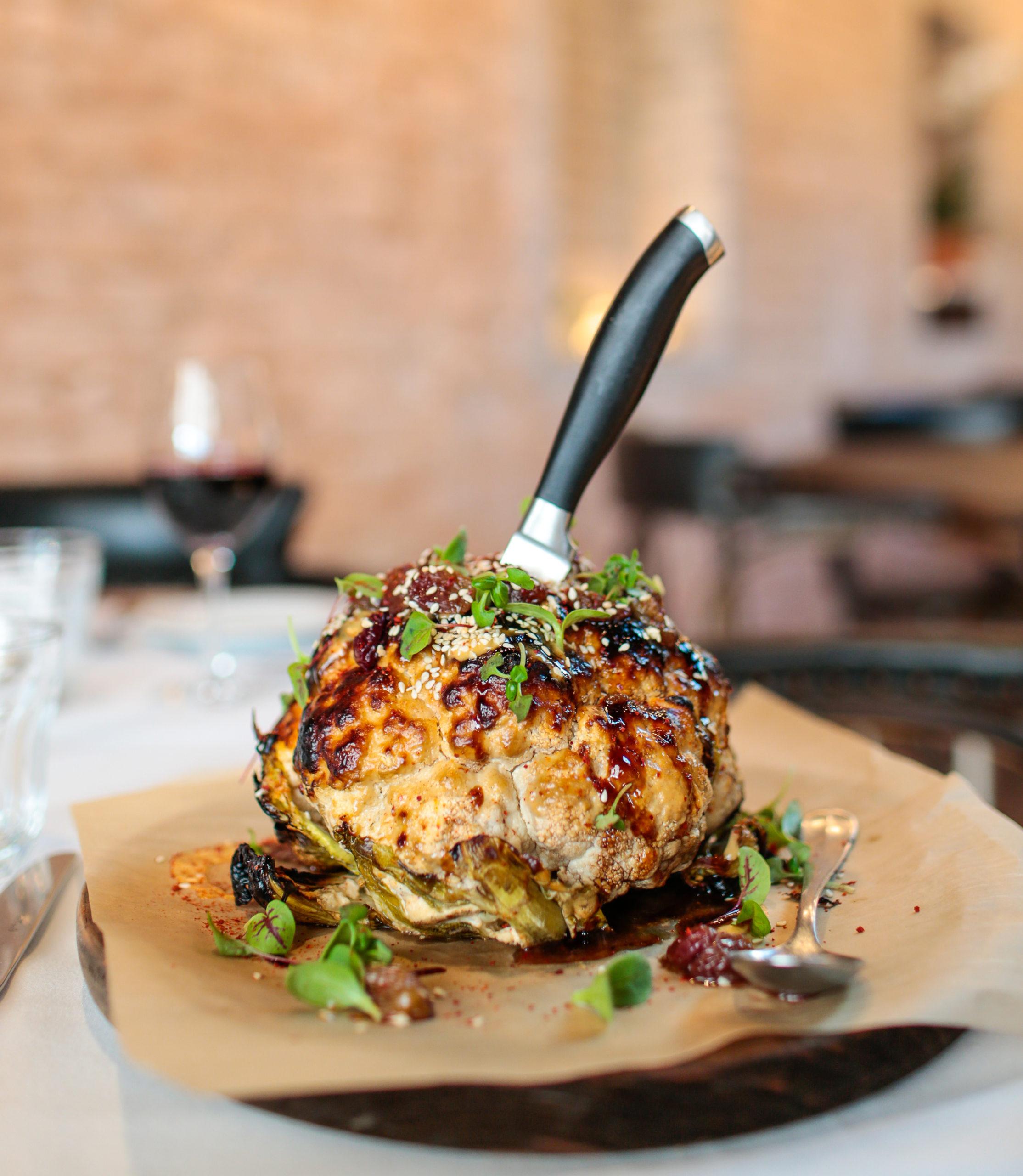 Lulu Kitchen & Bar's whole roasted cauliflower.