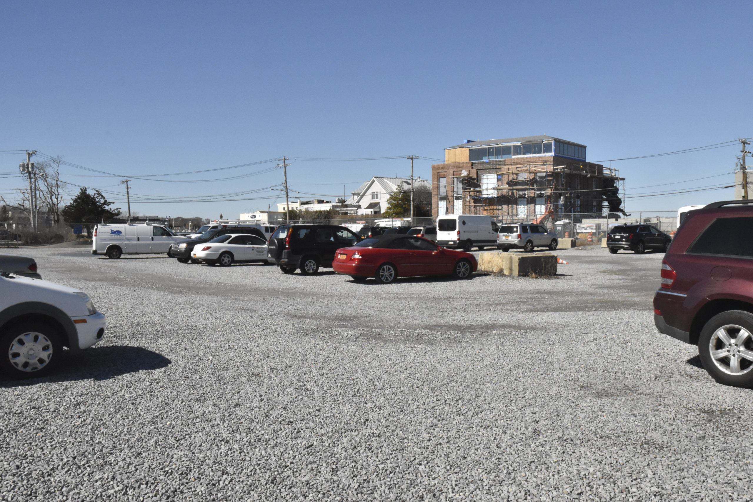 Sag Harbor Village's bid to obtain a long-term lease on what is commonly called the gas ball parking lot at the corner of Long Island Avenue and Bridge Streets has been rejected by National Grid in favor of a higher offer from Friends of Bay Street.    STEPHEN J. KOTZ