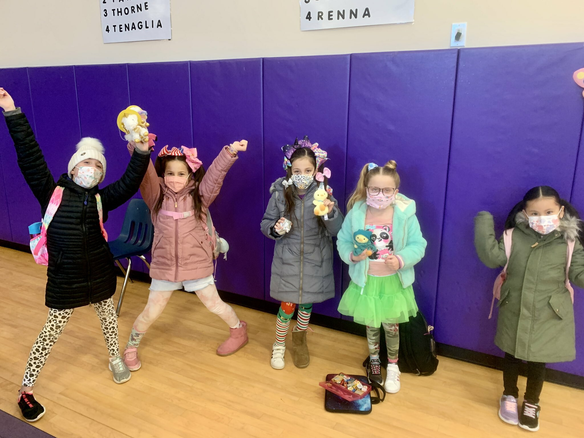 Hampton Bays Elementary School recently celebrated Read Across America Week with a number of fun and engaging activities. Students got into the spirit with themed apparel, including crazy sock and pajama days, and were treated to mystery reader sessions each day.