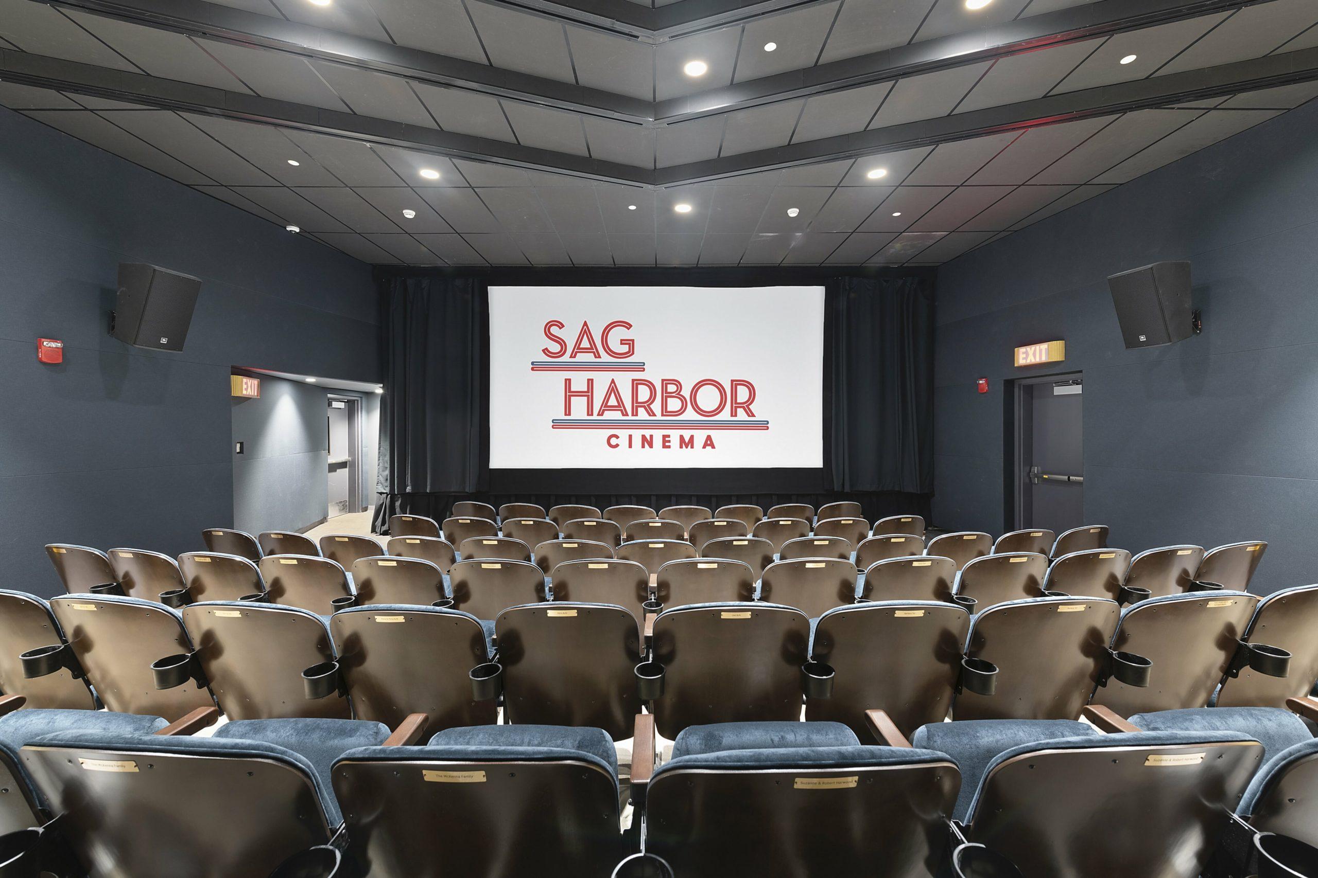 A sneak-peek inside the new Sag Harbor Cinema.