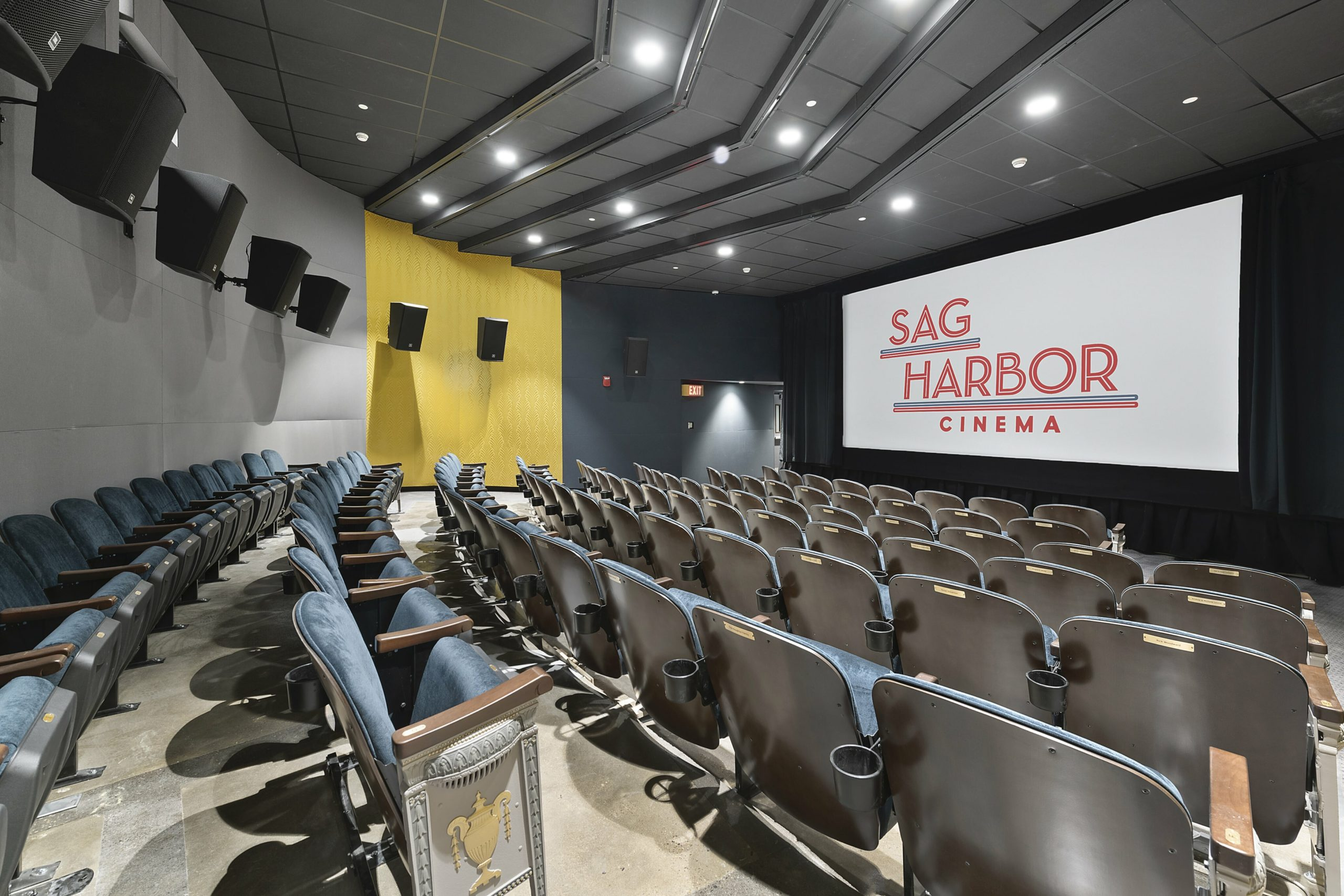A  view of the new Sag Harbor Cinema.