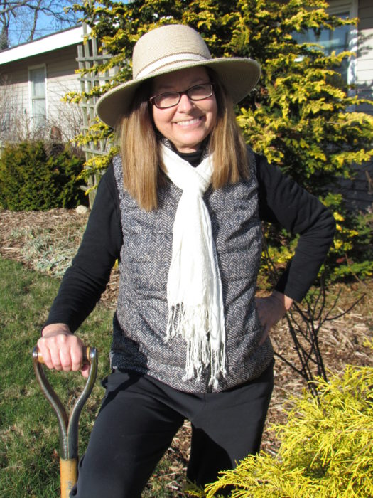 Roxanne Zimmer, the community horticulture specialist for Cornell Cooperative Extension of Suffolk County.