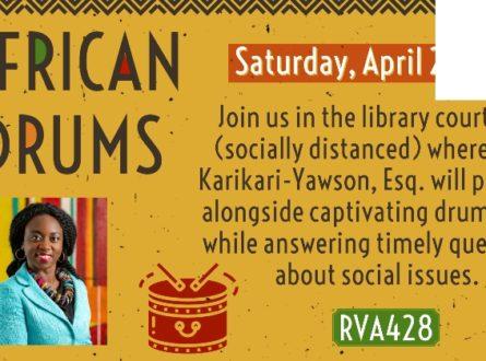 African Drums with Ama Karikari-Yawson