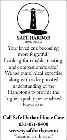 SAFE HARBOR HOME CARE