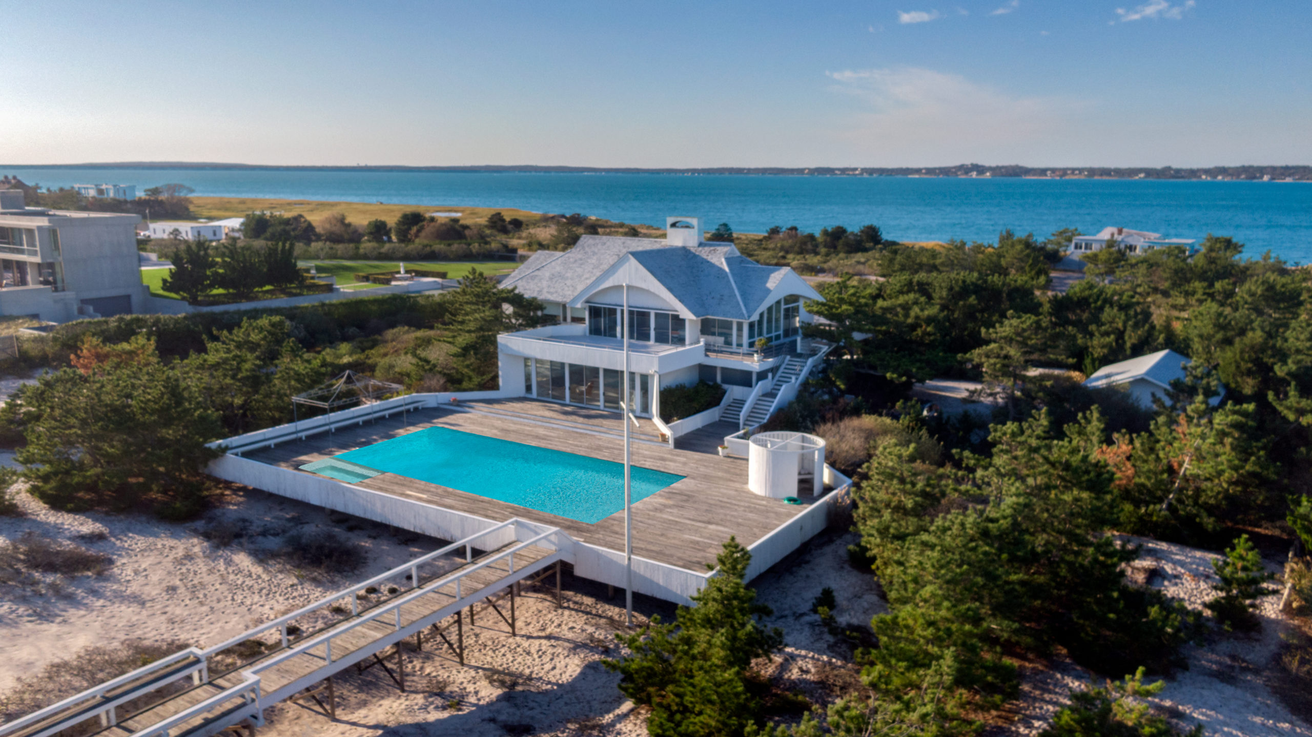 In Southampton Village, 1210 Meadow Lane recently entered contract with a last asking price of $37 million.
