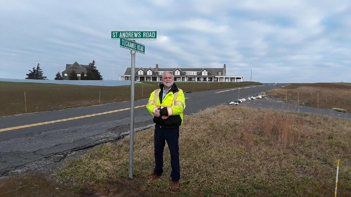 Southampton Highway Superintendent Alex Gregor