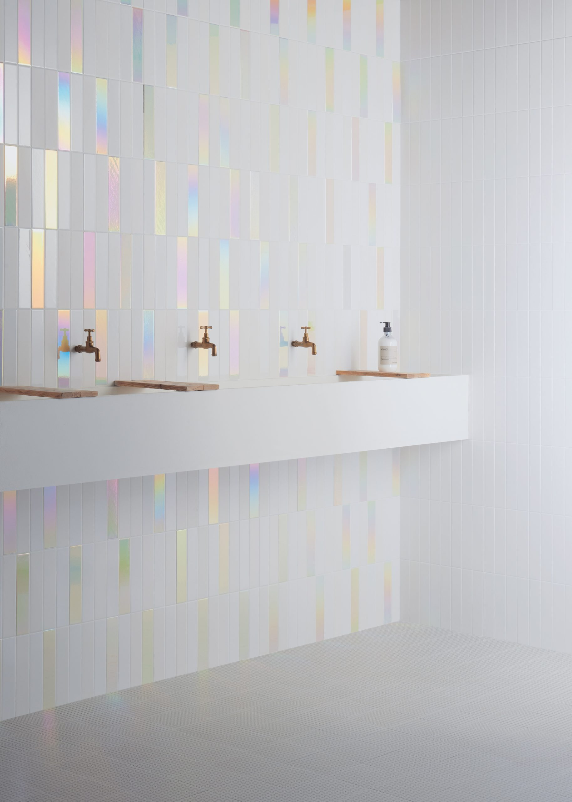 Tiles from Nemo Tile + Stone's Glow collection.