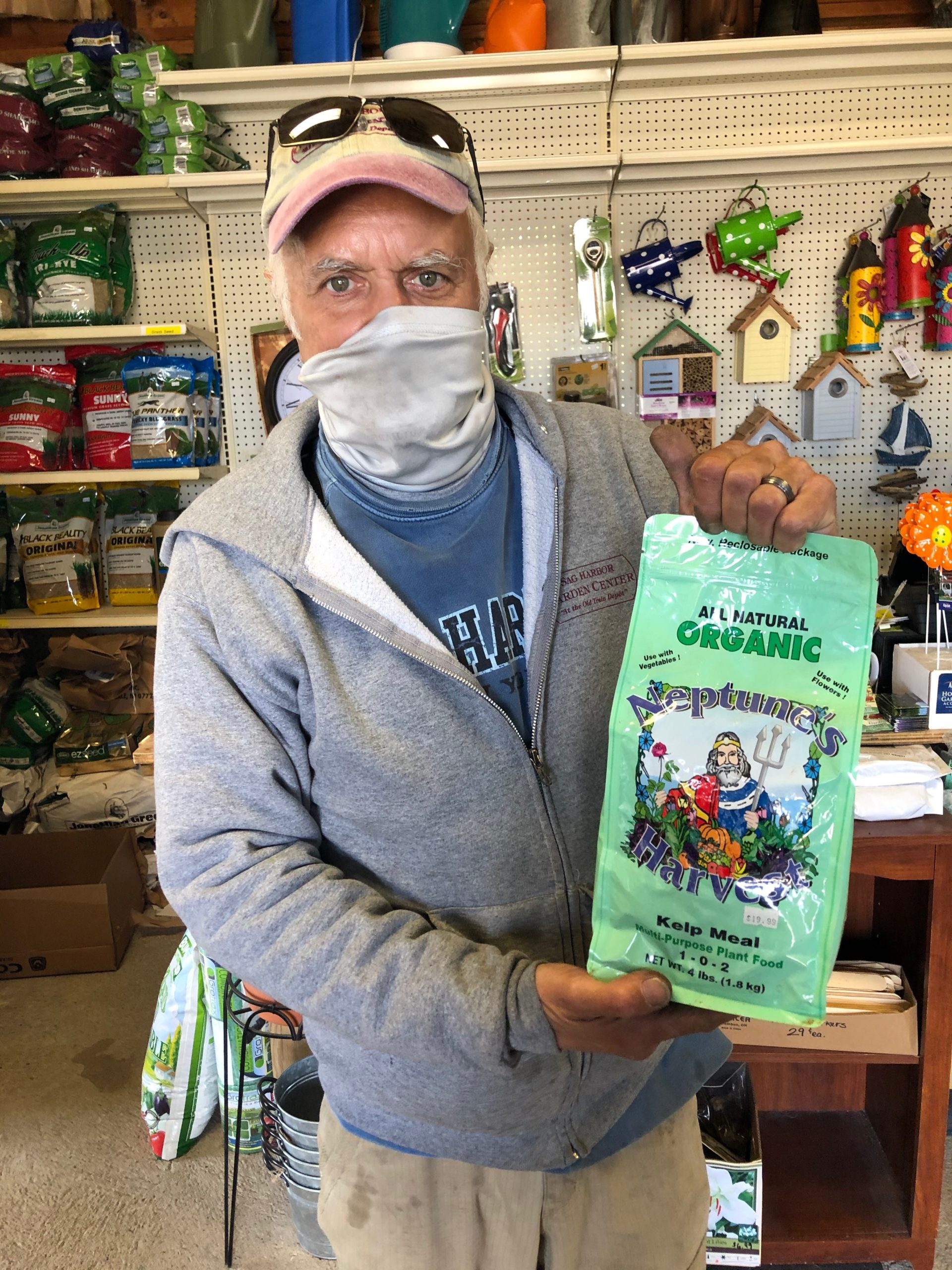 "Even though Phil Bucking of Sag Harbor Garden Center sells potent kelp fertilizer, he points out that ""kelp is easy to forage yourself because you don't need that much and your garden doesn't care what type you use."""