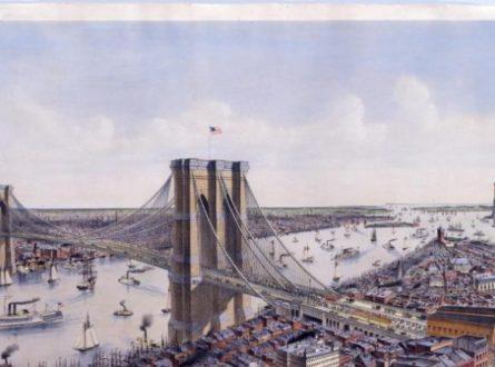 A Virtual Presentation:  The Eighth Wonder of the World – The Brooklyn Bridge
