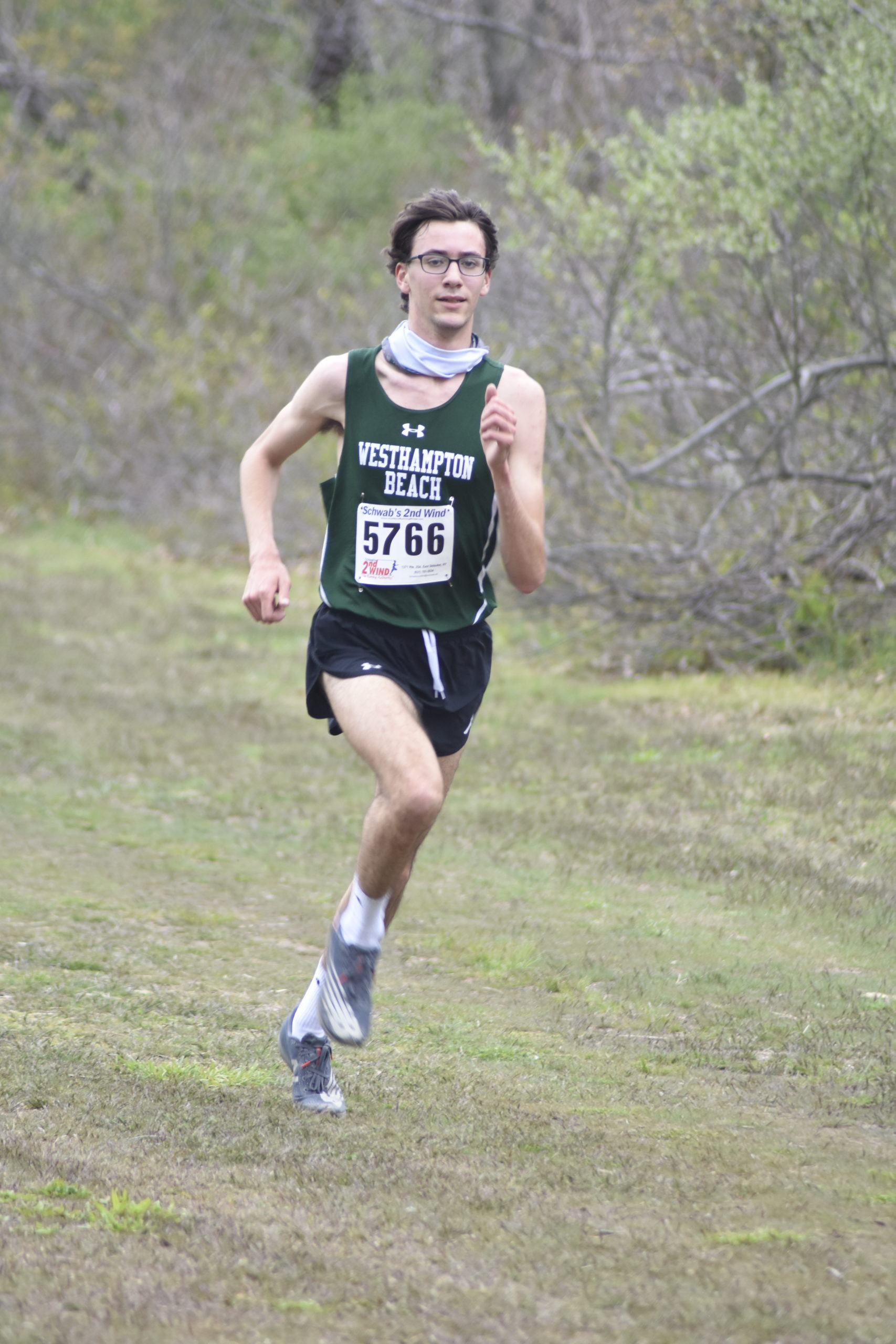 Westhampton Beach junior Gavin Ehlers won the Suffolk County Class B title on April 21.