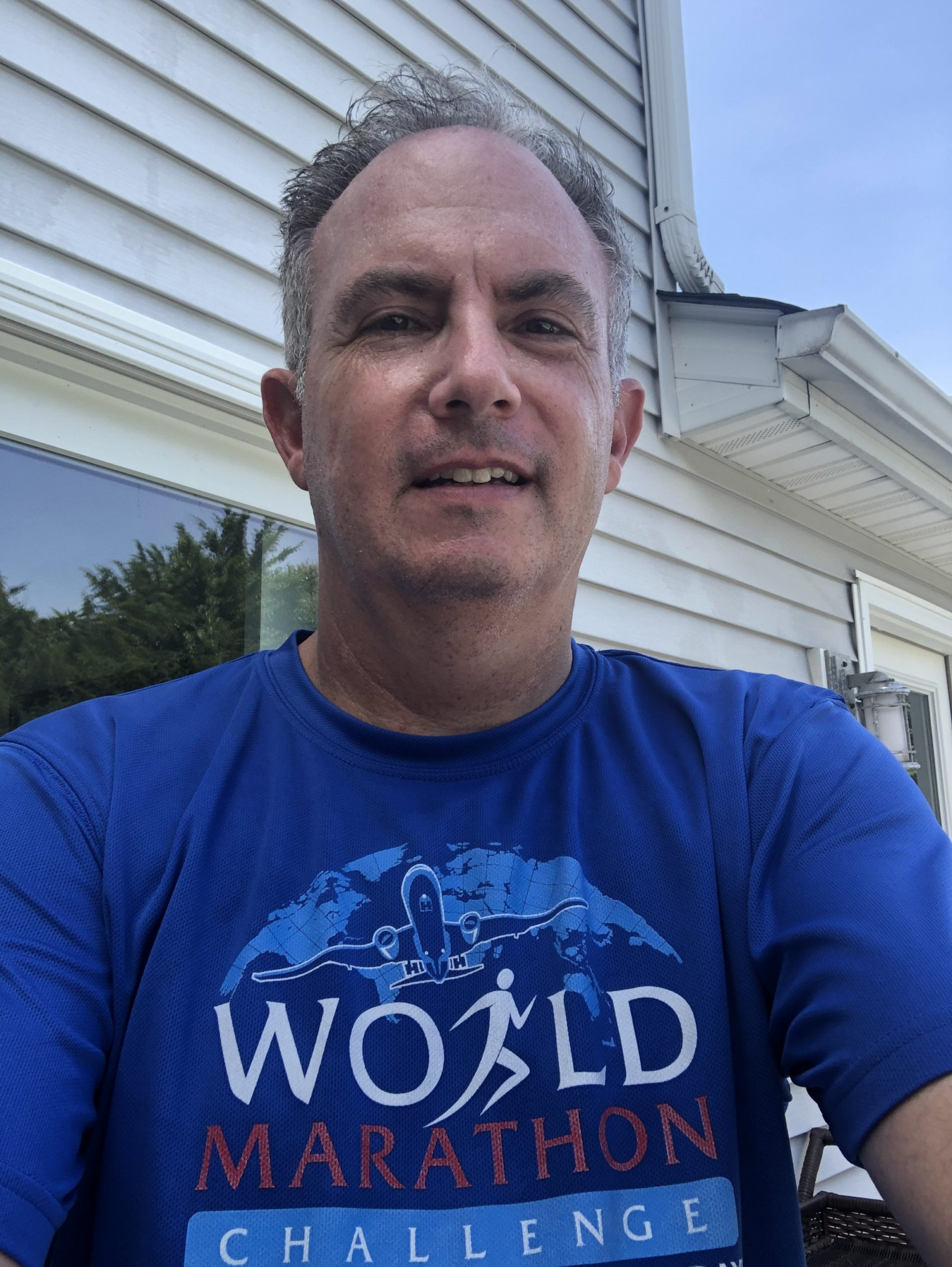 Bret Parker, who completes a physical feat every year to raise money for Parkinson's disease research, challenged himself with the Calendar Club in July 2020.