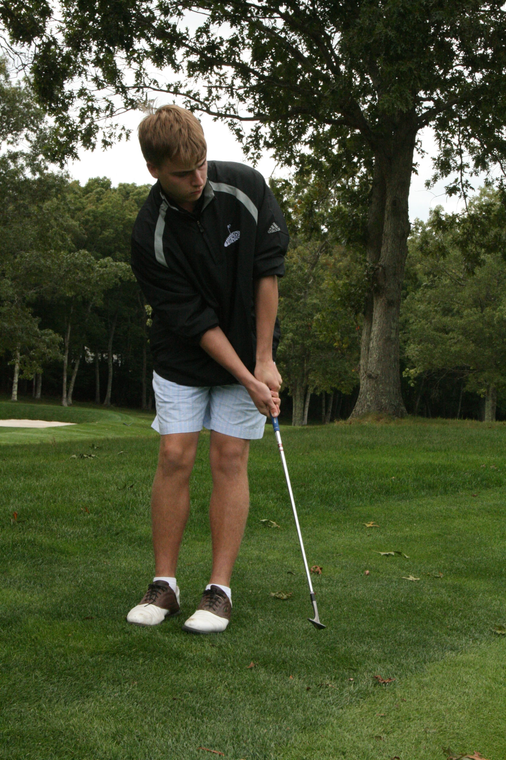 C.J. Andrews was a key golfer for Westhampton Beach, playing on the varsity team as an eighth grader and through into his high school years.