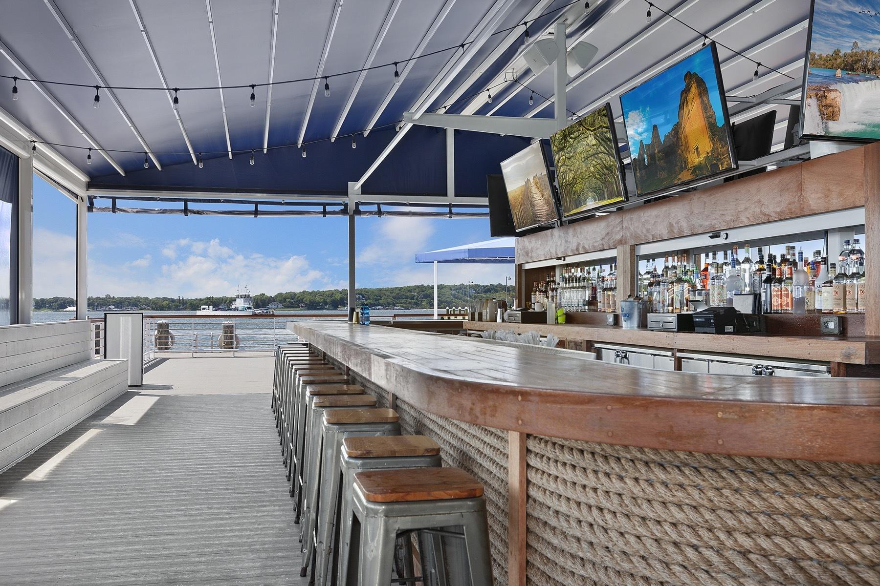 Claudio's Waterfront restaurant in Greenport.