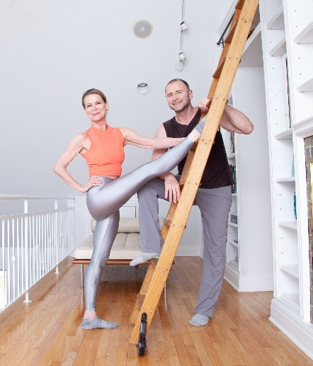 Elisabeth Halfpapp and Fred DeVito of Core Barre Fit.