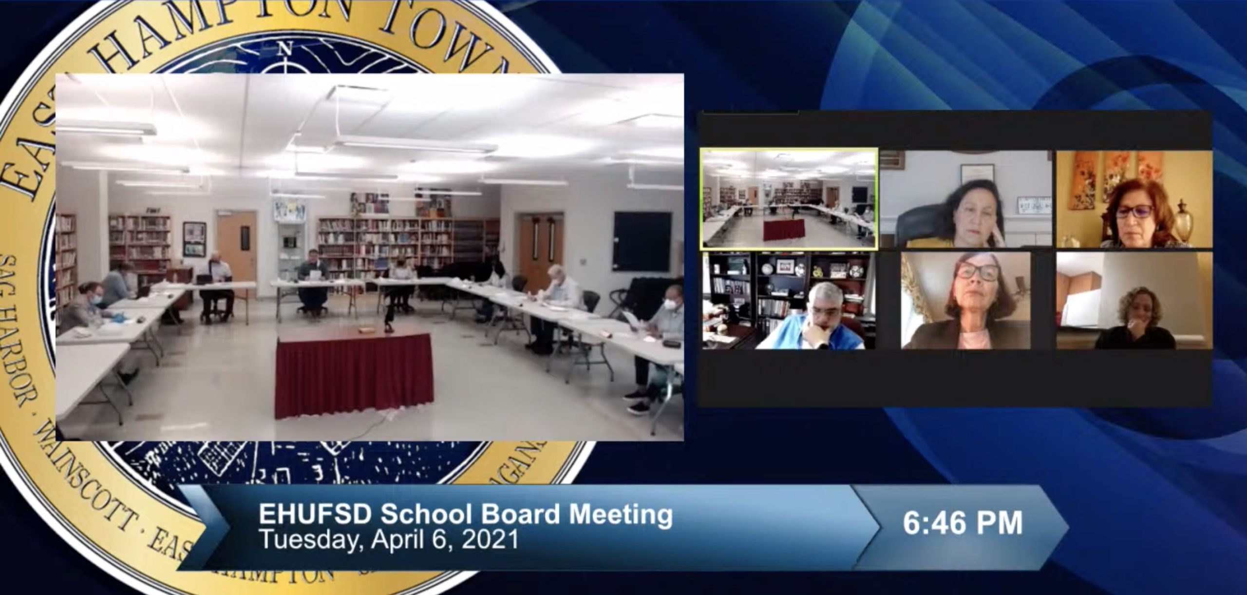On Tuesday, the East Hampton Schools Board of Education discussed creating an alumni event for 2020 graduates.