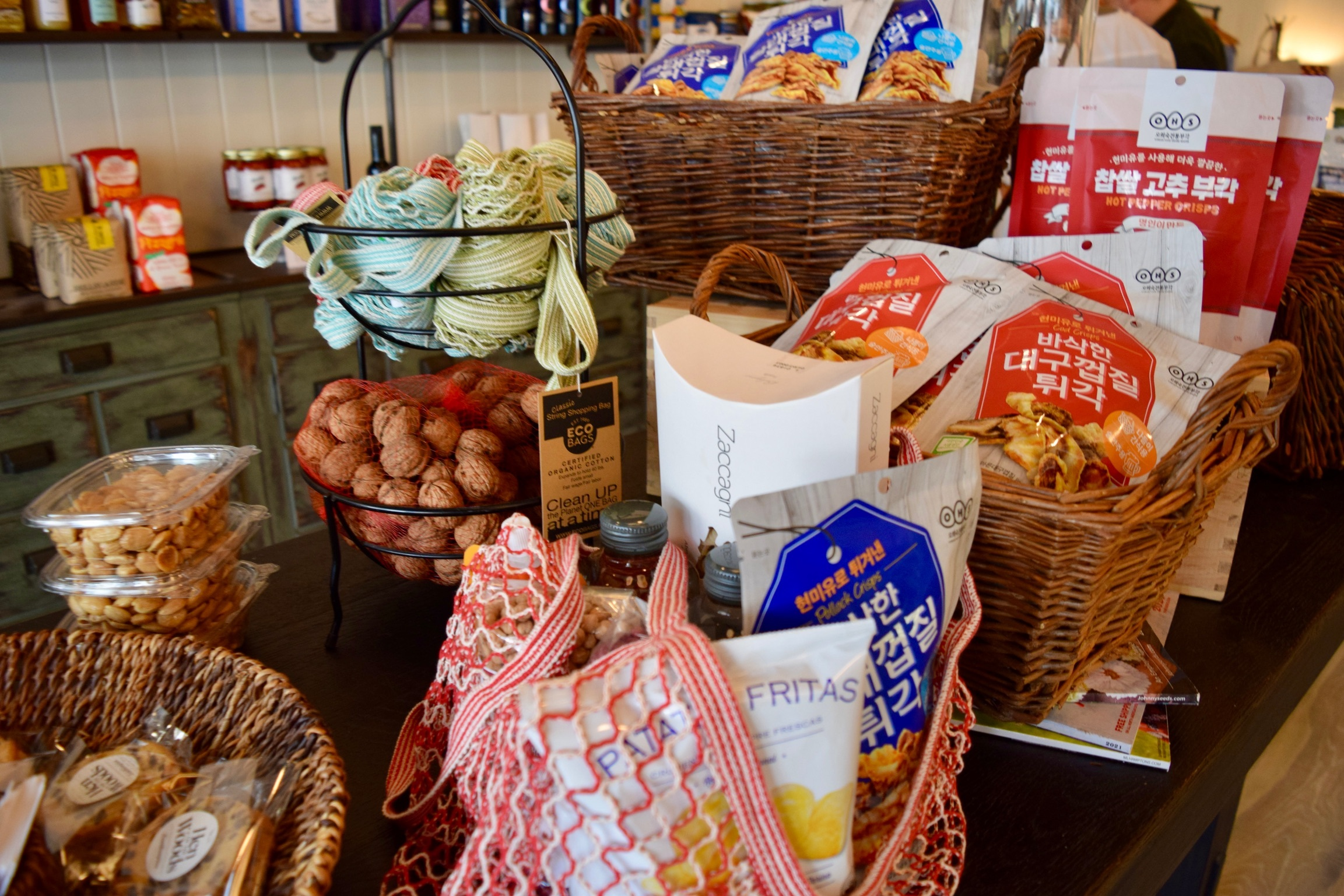 Hen of the Woods market specializes in unique pantry items.