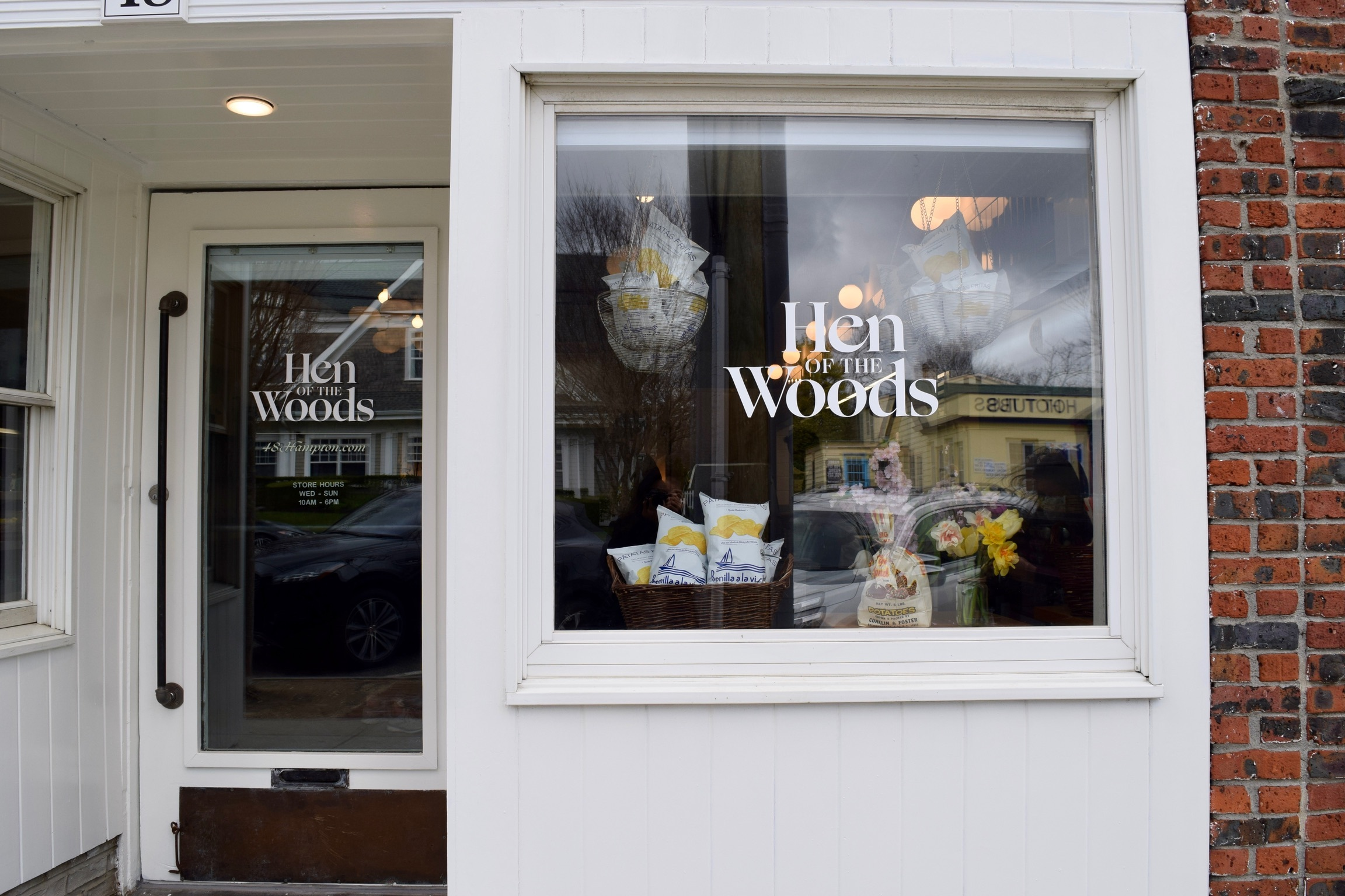 Hen of the Woods market opens this week in Southampton.