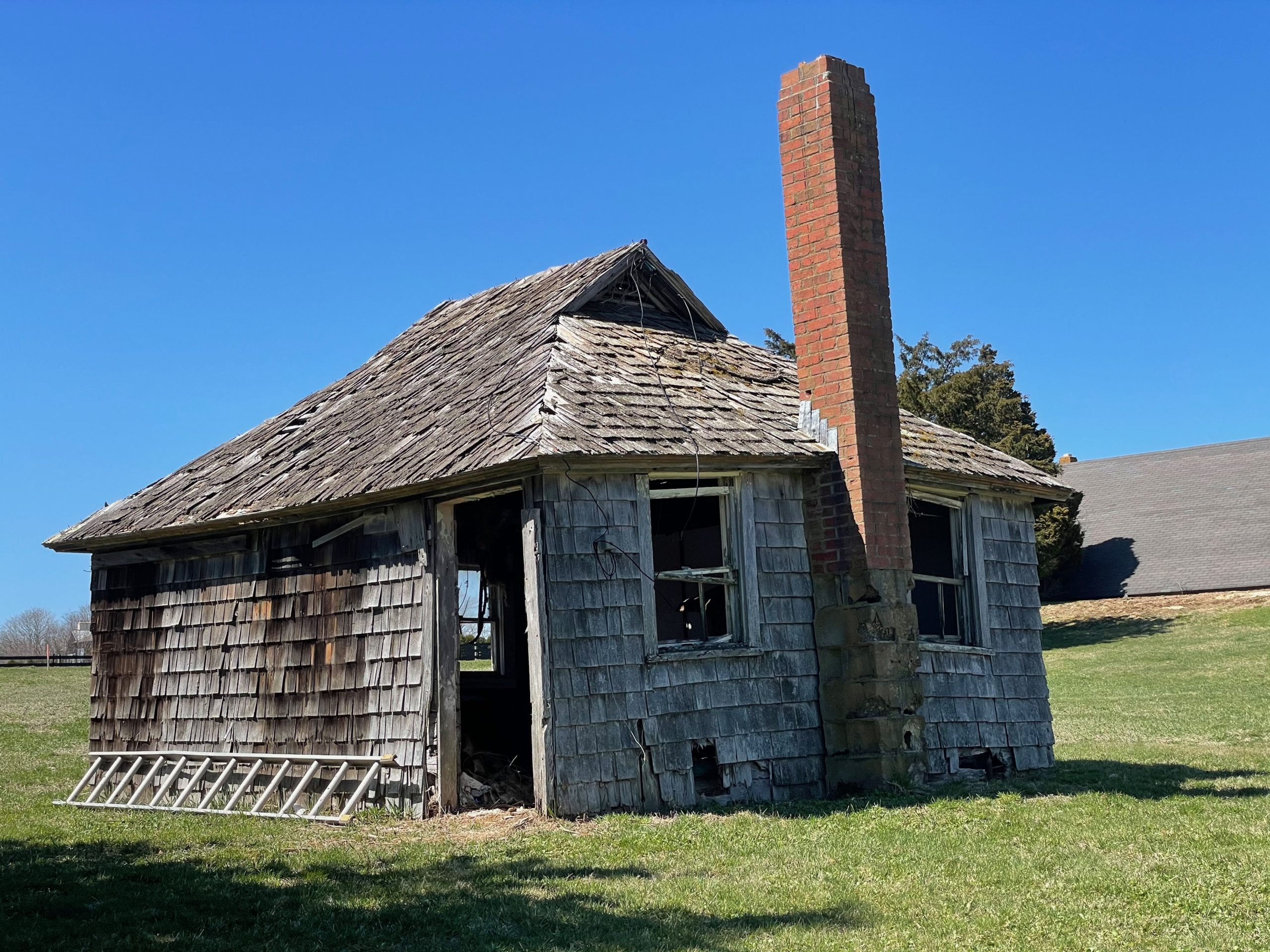 'The Little House' was home to migrant workers and farmhands in Wainscott for a century. It will be demolished in May by developers if it is not relocated to a new property.