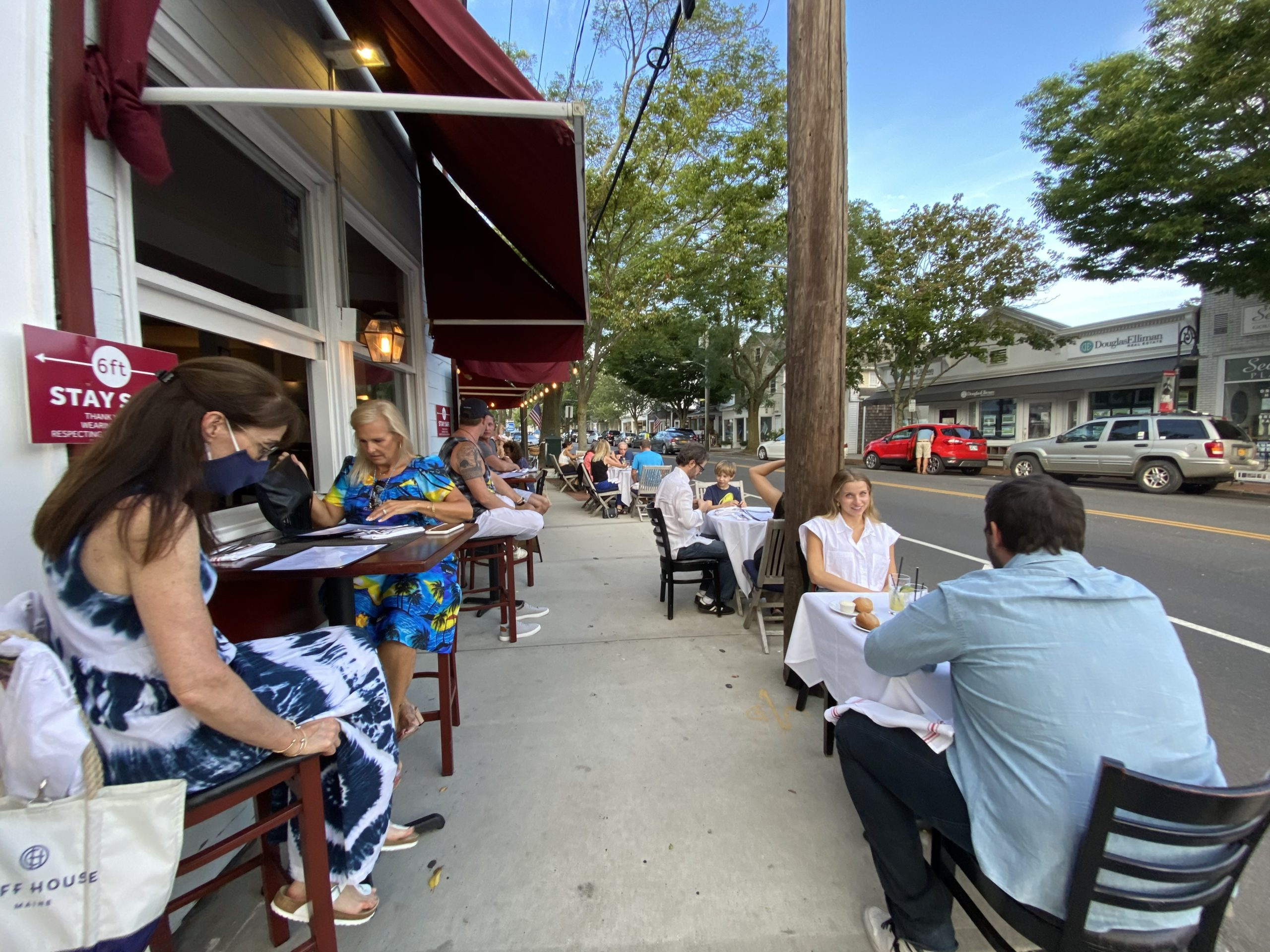 Southampton Village officials are mulling the 2021 outdoor dining season.