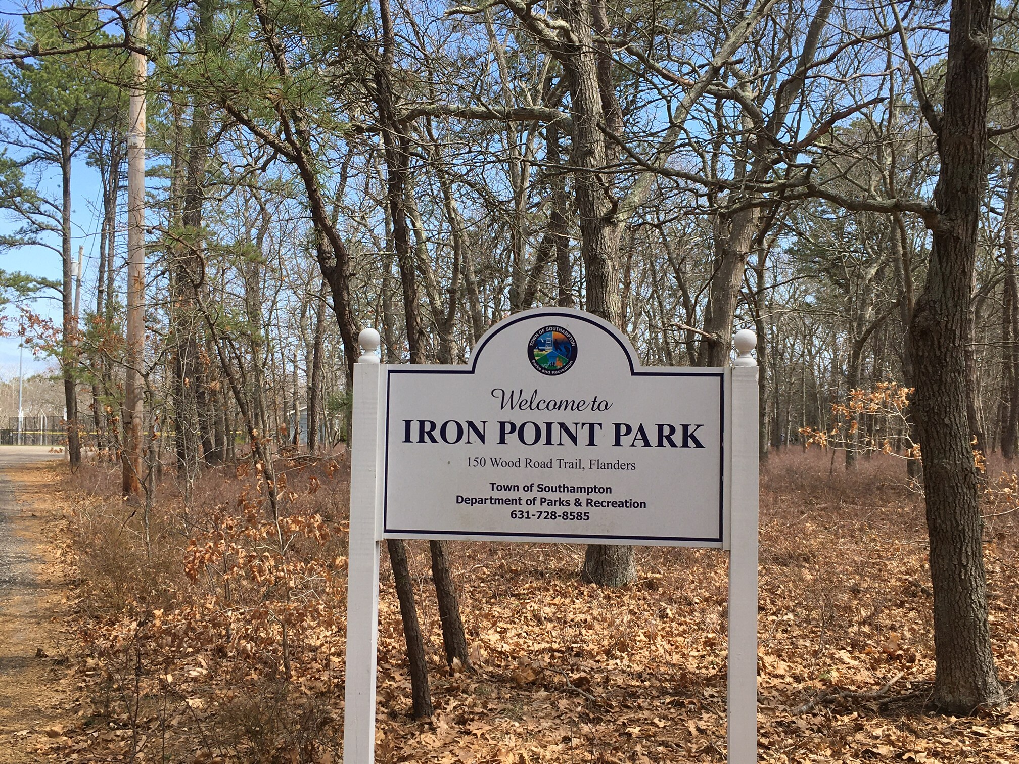 Iron Point Park in Flanders