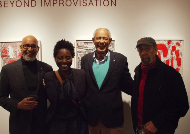 From left, Claude Lawrence, Adriana Campbell, E.T. Williams and Frank Wimberley.