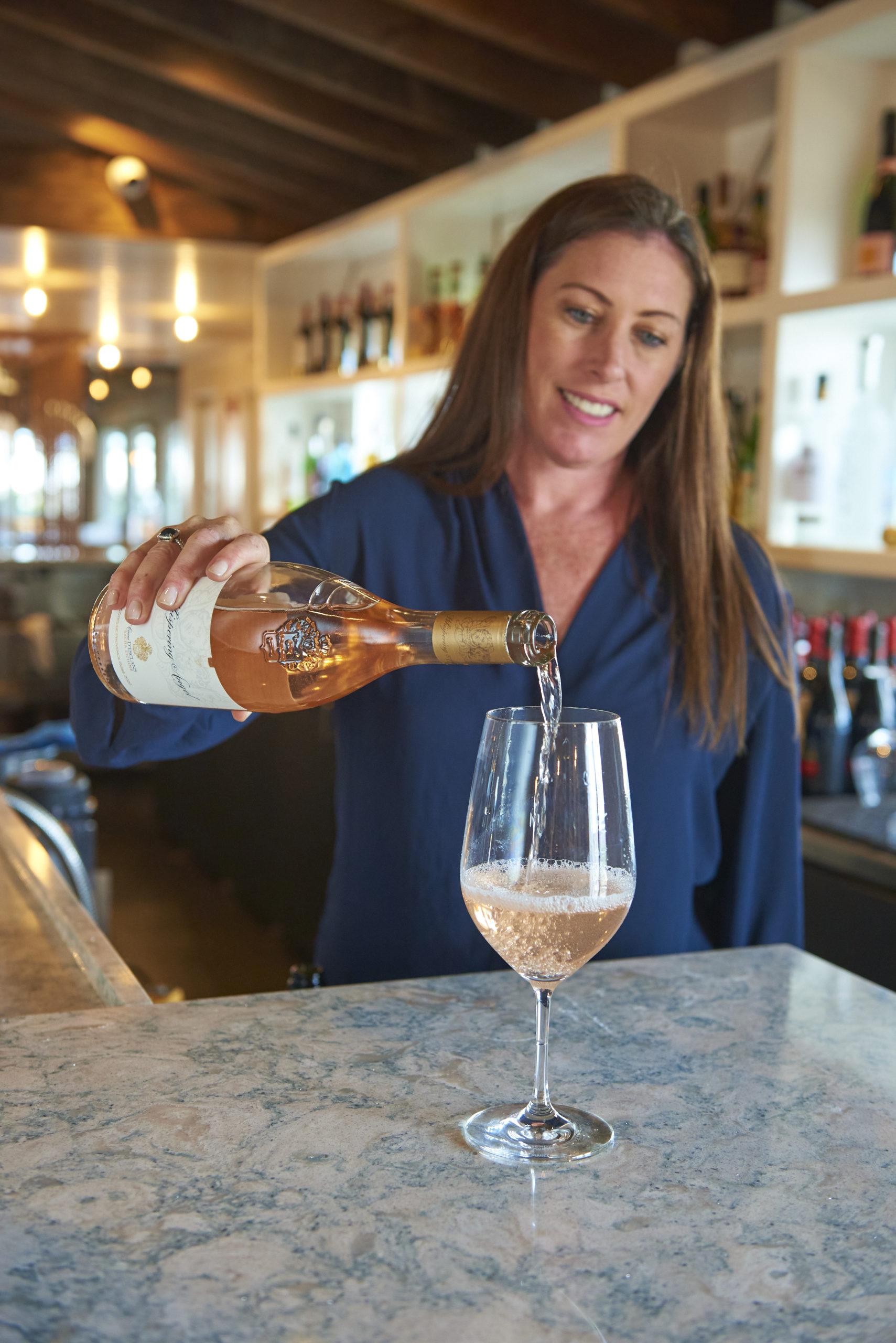 La Fin Kitchen & Lounge's beverage manager Erin Swain.