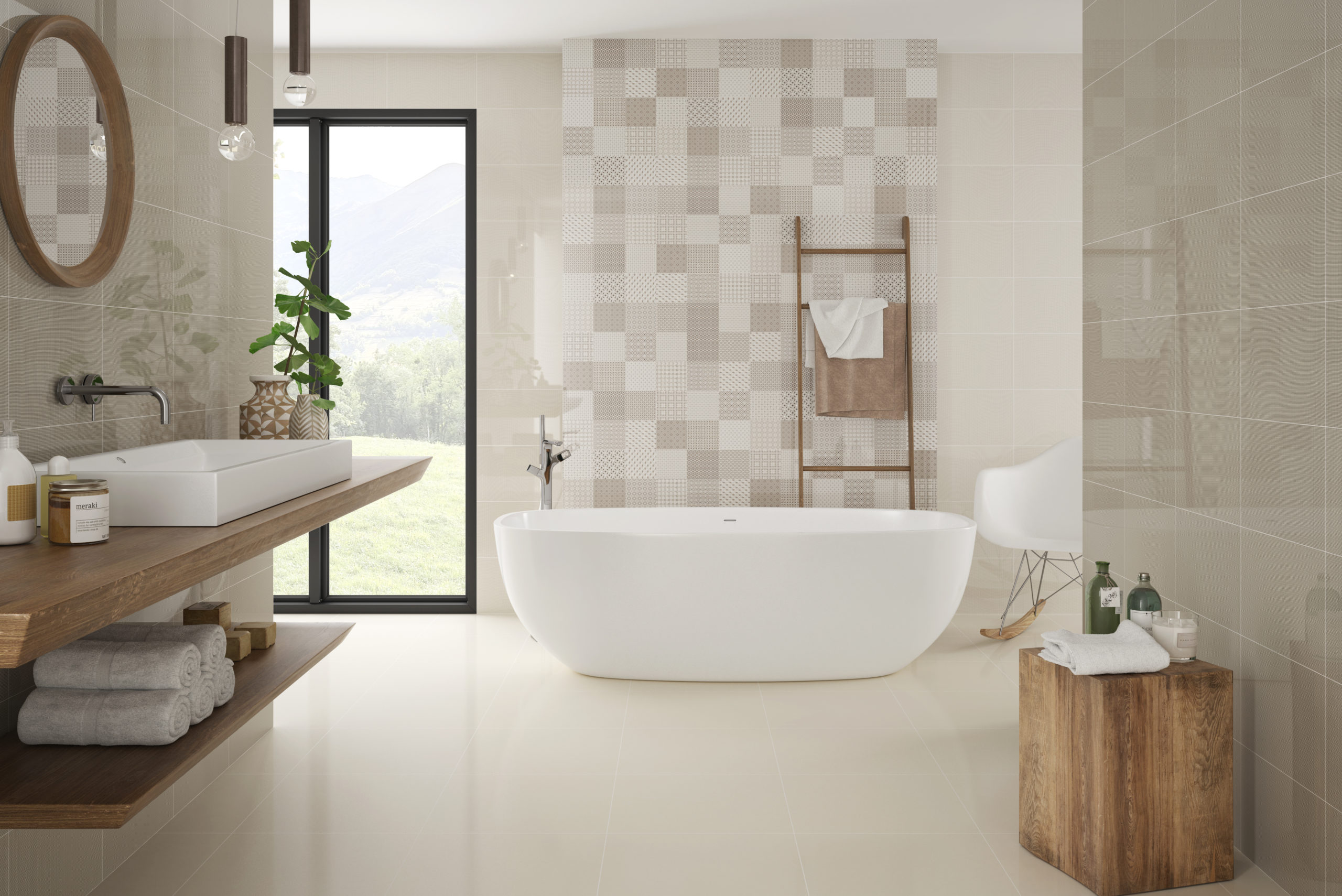 Tiles from Nemo Tile + Stone's Glow collection