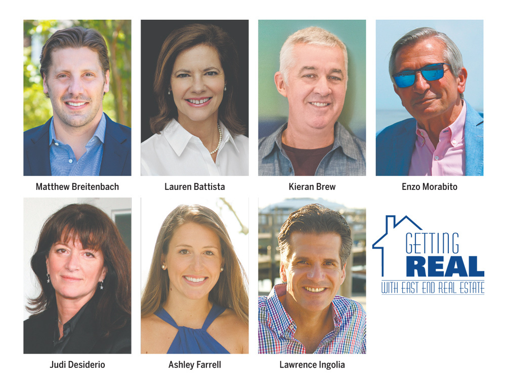The inaugural Getting Real with East End Real Estate panel.