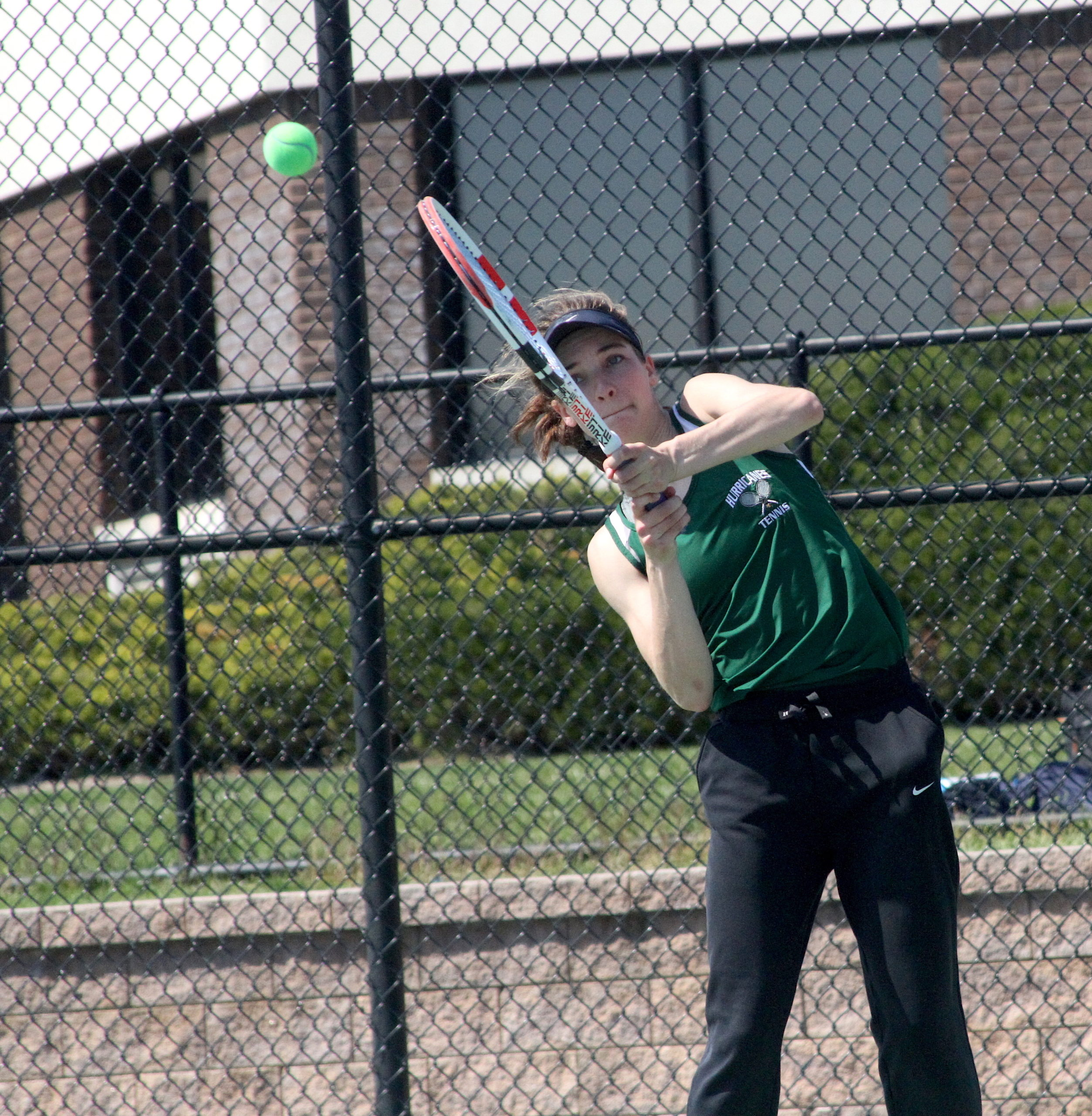 Westhampton Beach junior Rose Hayes was solid at the baseline in the Division IV singles finals.