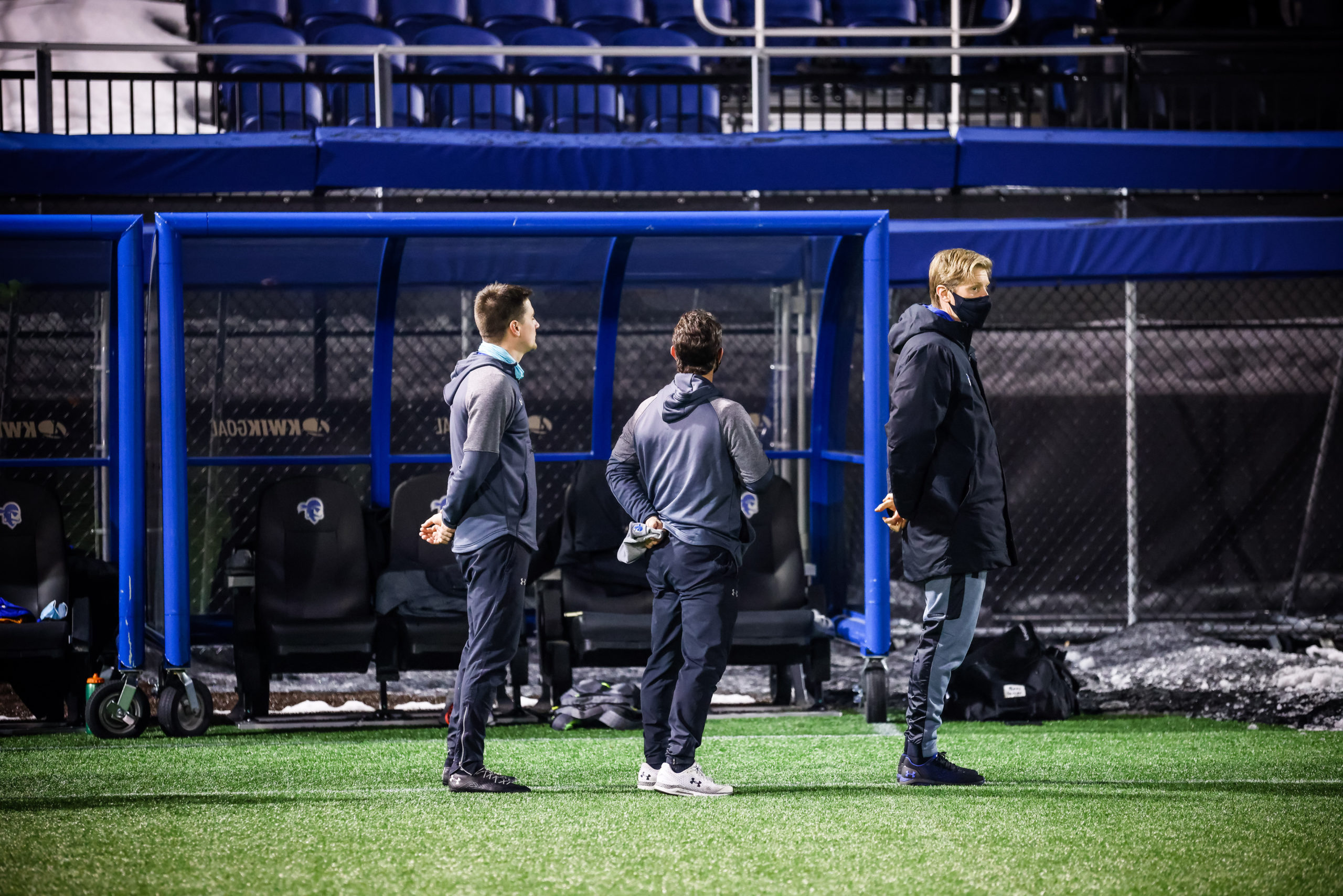 Andreas Lindberg and his coaching staff were named Coaching Staff of the Year for the Big East, and earned that distinction for the entire east region as well. They are also in the running for National Coaching Staff of the Year.