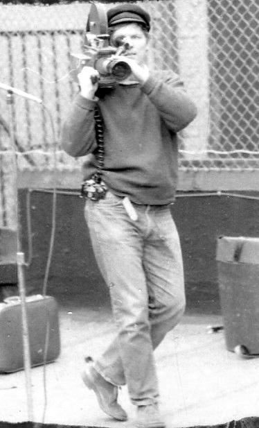 D.A. Pennebaker filming