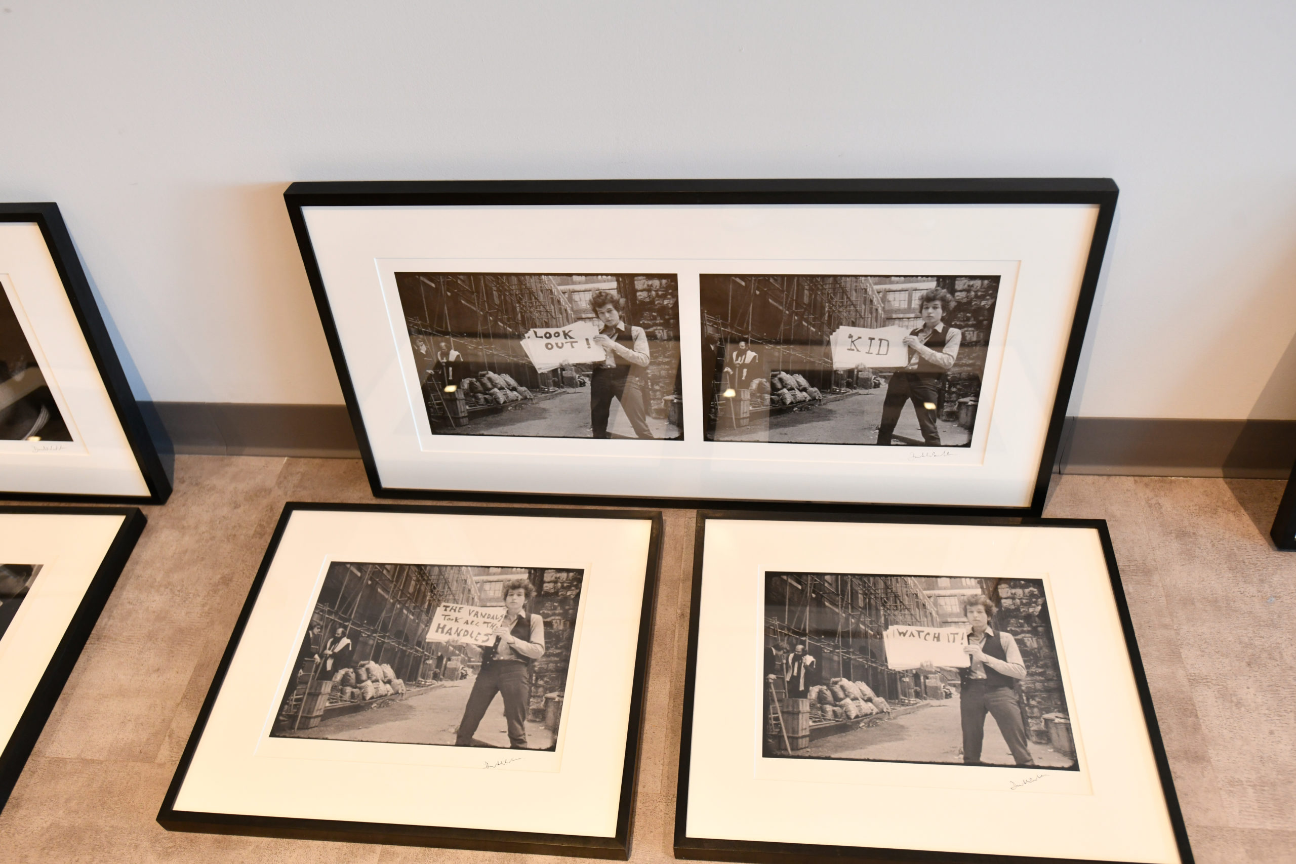 Images from Bob Dylan's