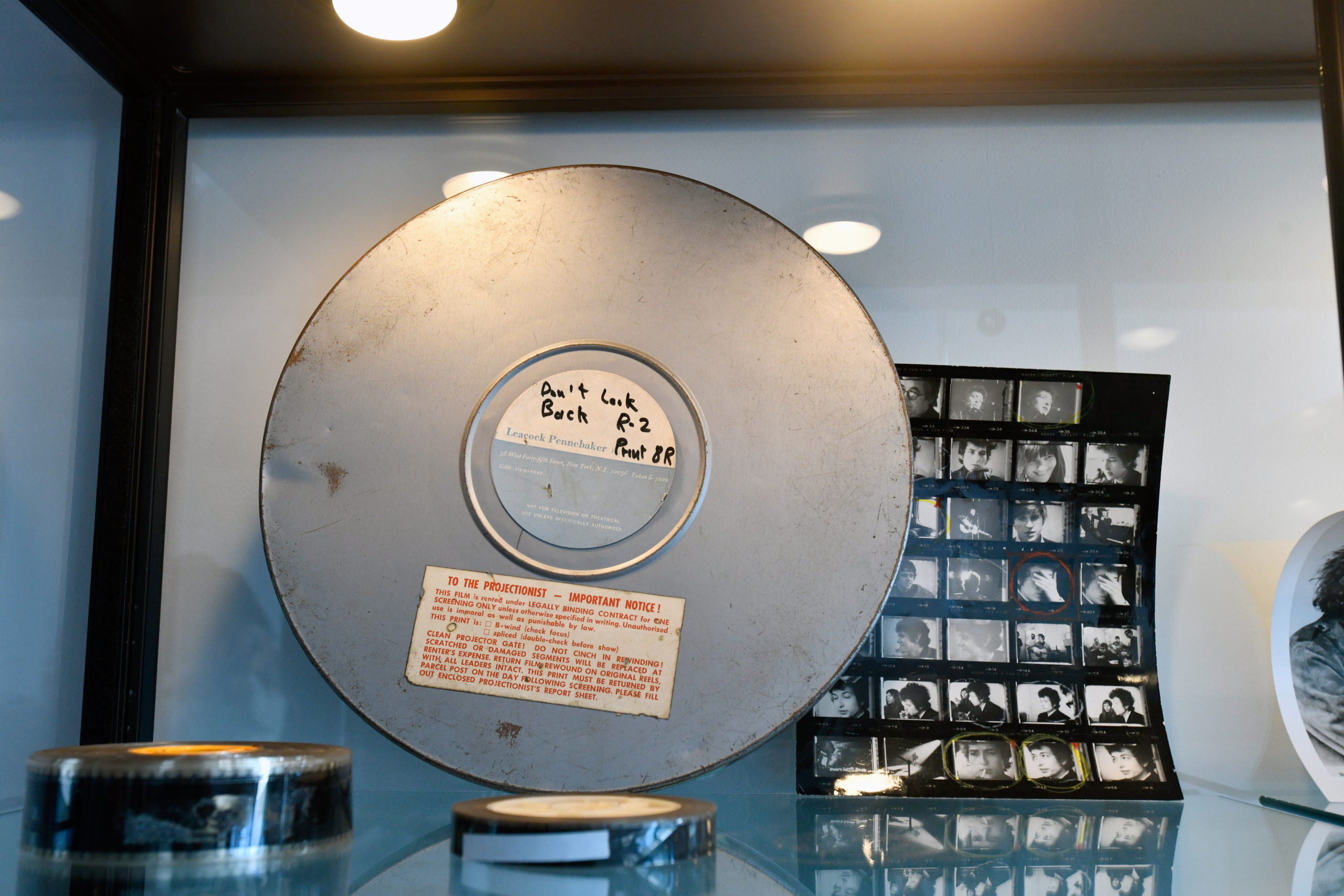 A 16 and 35mm print of the trailer for