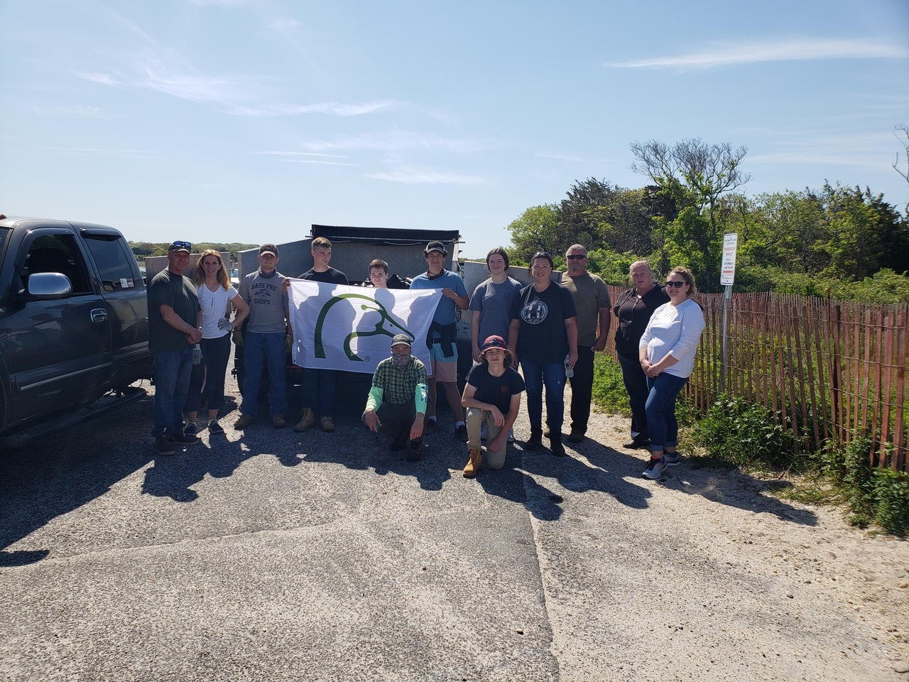 Southampton Town and the Eastern Suffolk chapter of the wetlands conservation organization Ducks Unlimited teamed up for a beach clean-up at Sebonack Inlet and Cold Spring over the weekend.