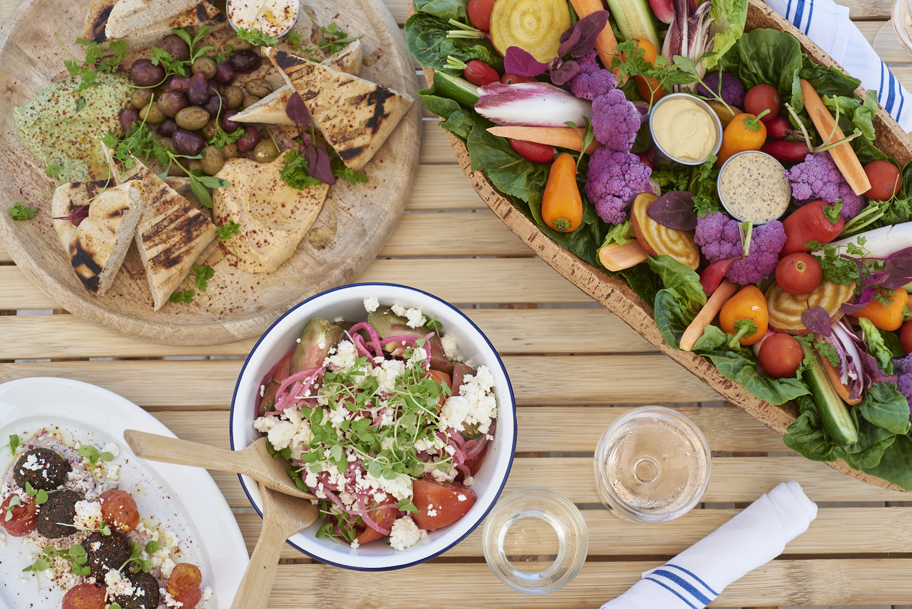 Mediterranean specialties are on the menu at Duryea's Orient Point.