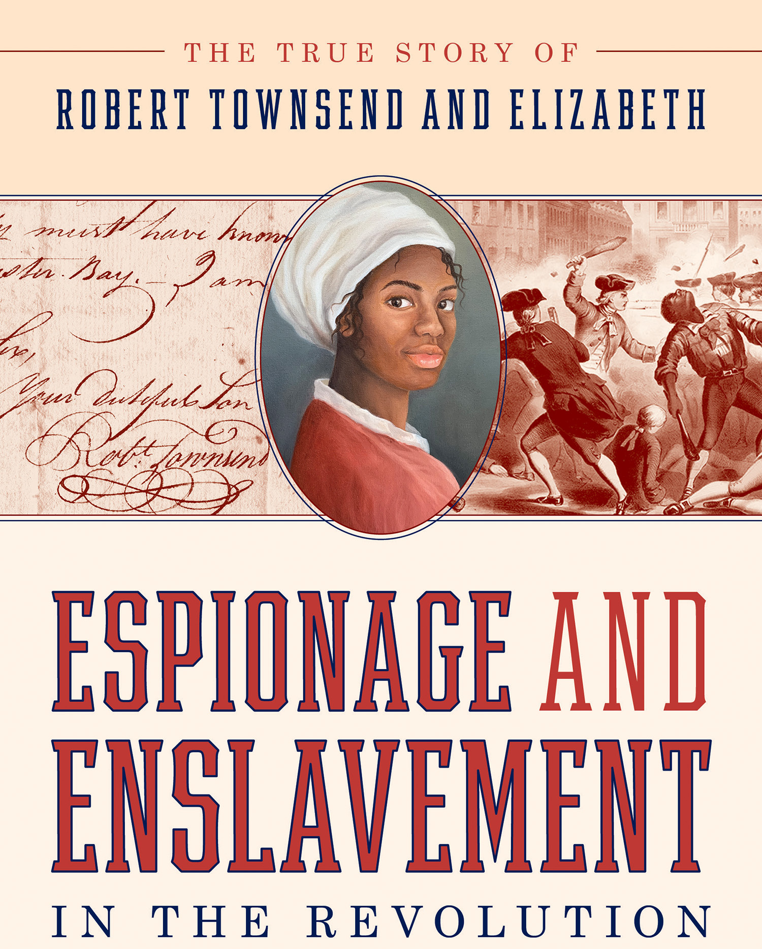"""Author Claire Bellerjeau about her book """"Espionage and Enslavement in the Revolution"""" on Thursday, May 20."""