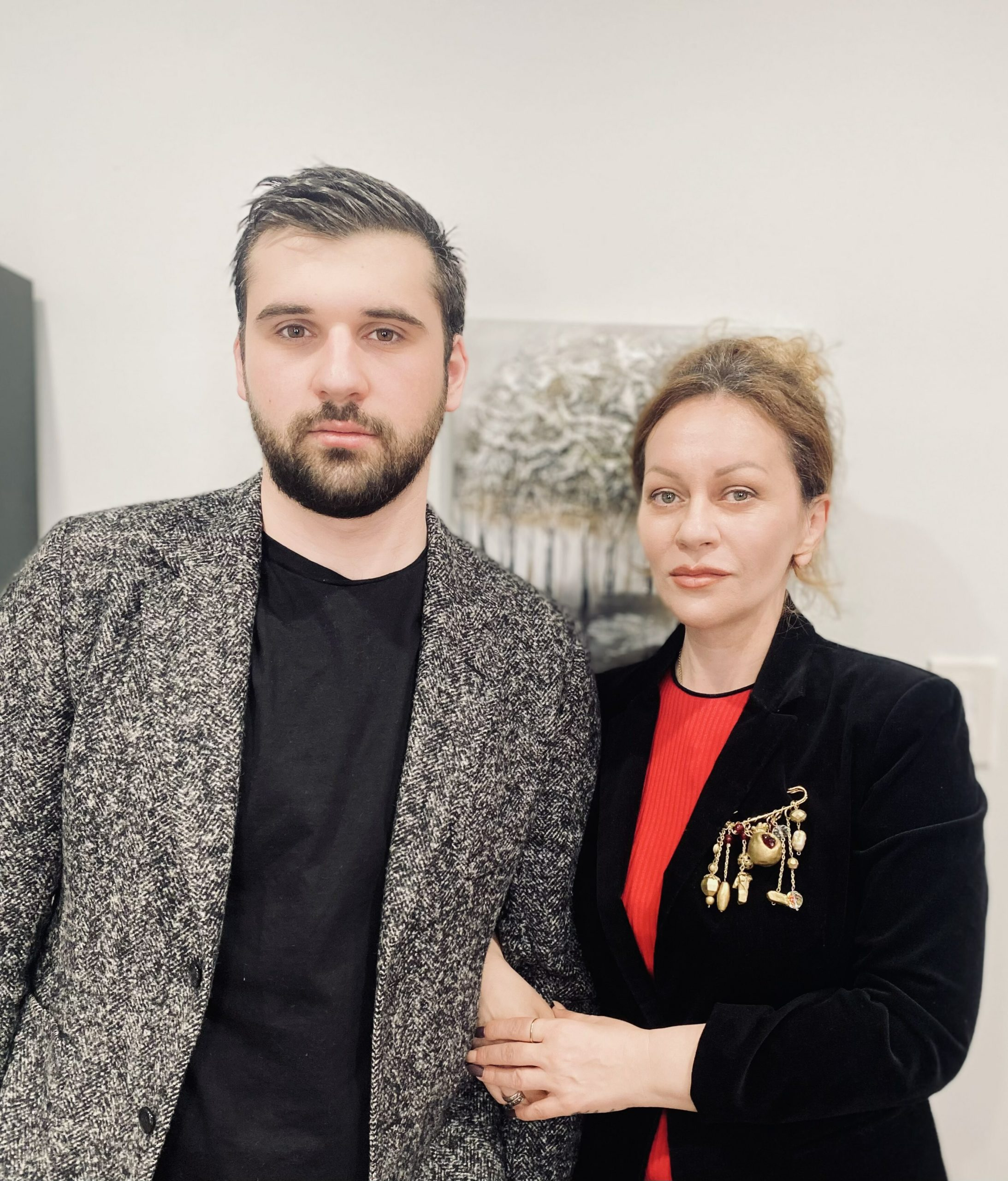 Giorgi Adamashvili and Maka Nikachadze, founders of Hamptons Inclusive Care.
