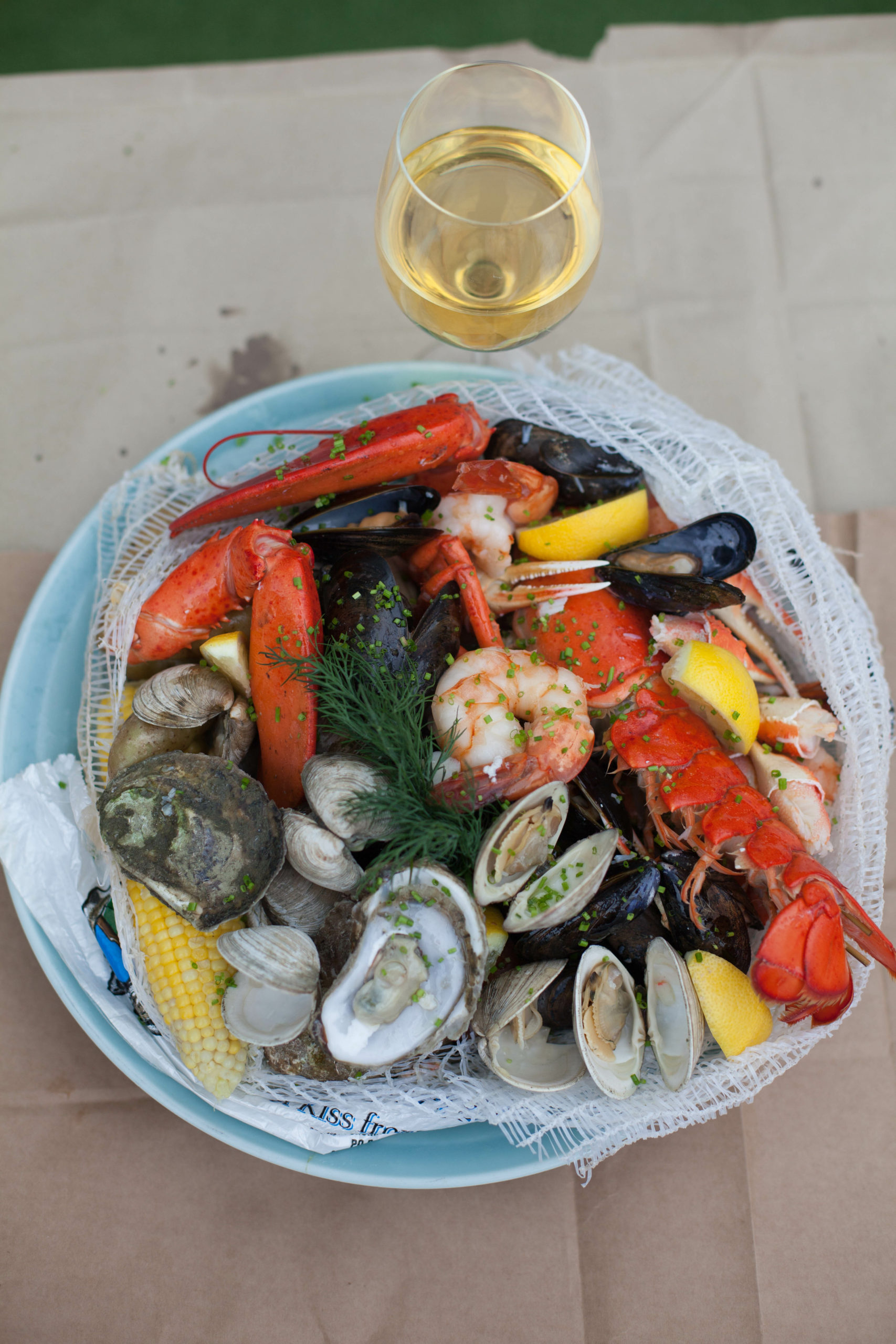 Fresh seafood is on the menu at Manna at Lobster Inn.
