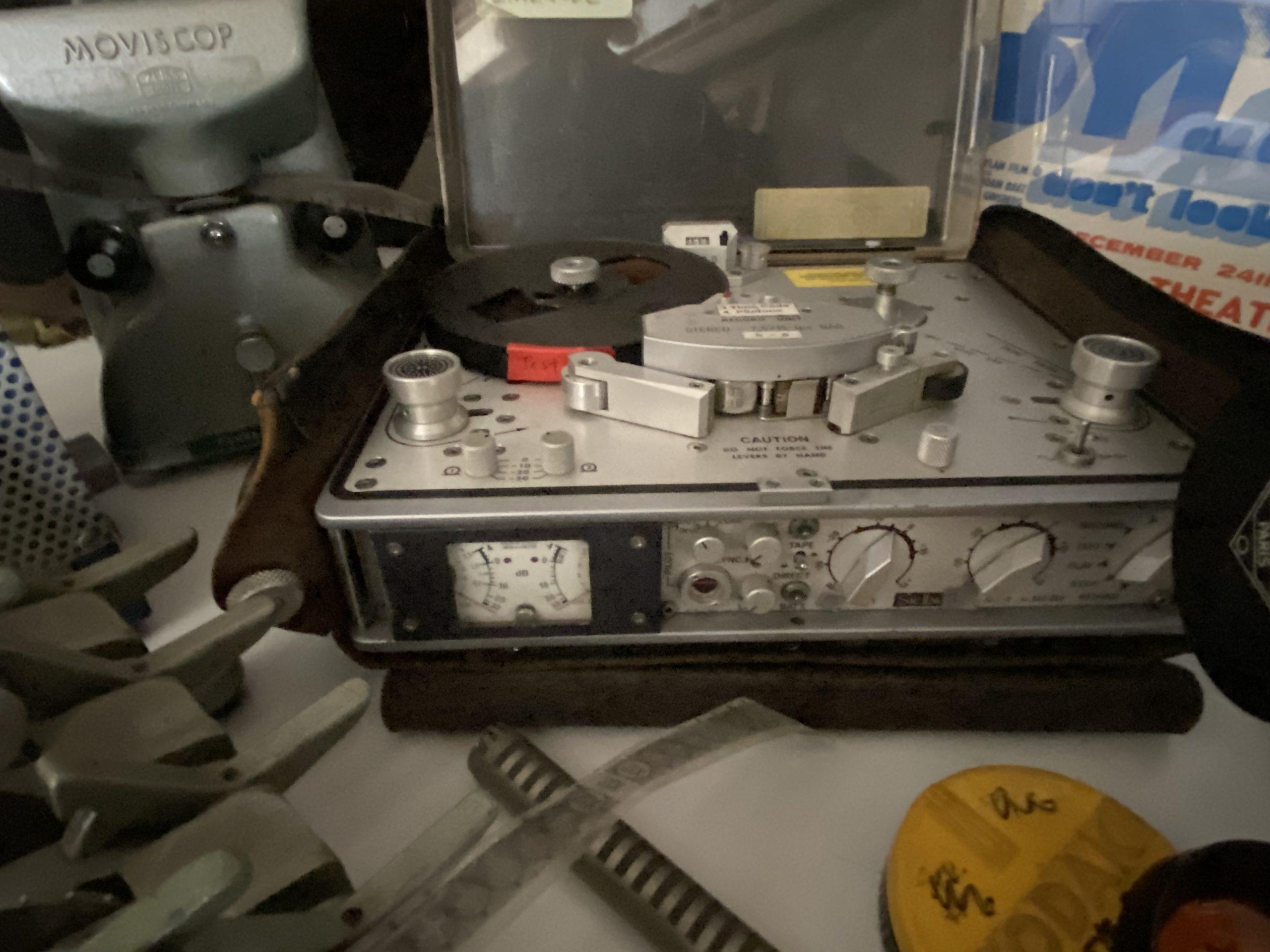 A film recorder belonging to Chris Hegedus.