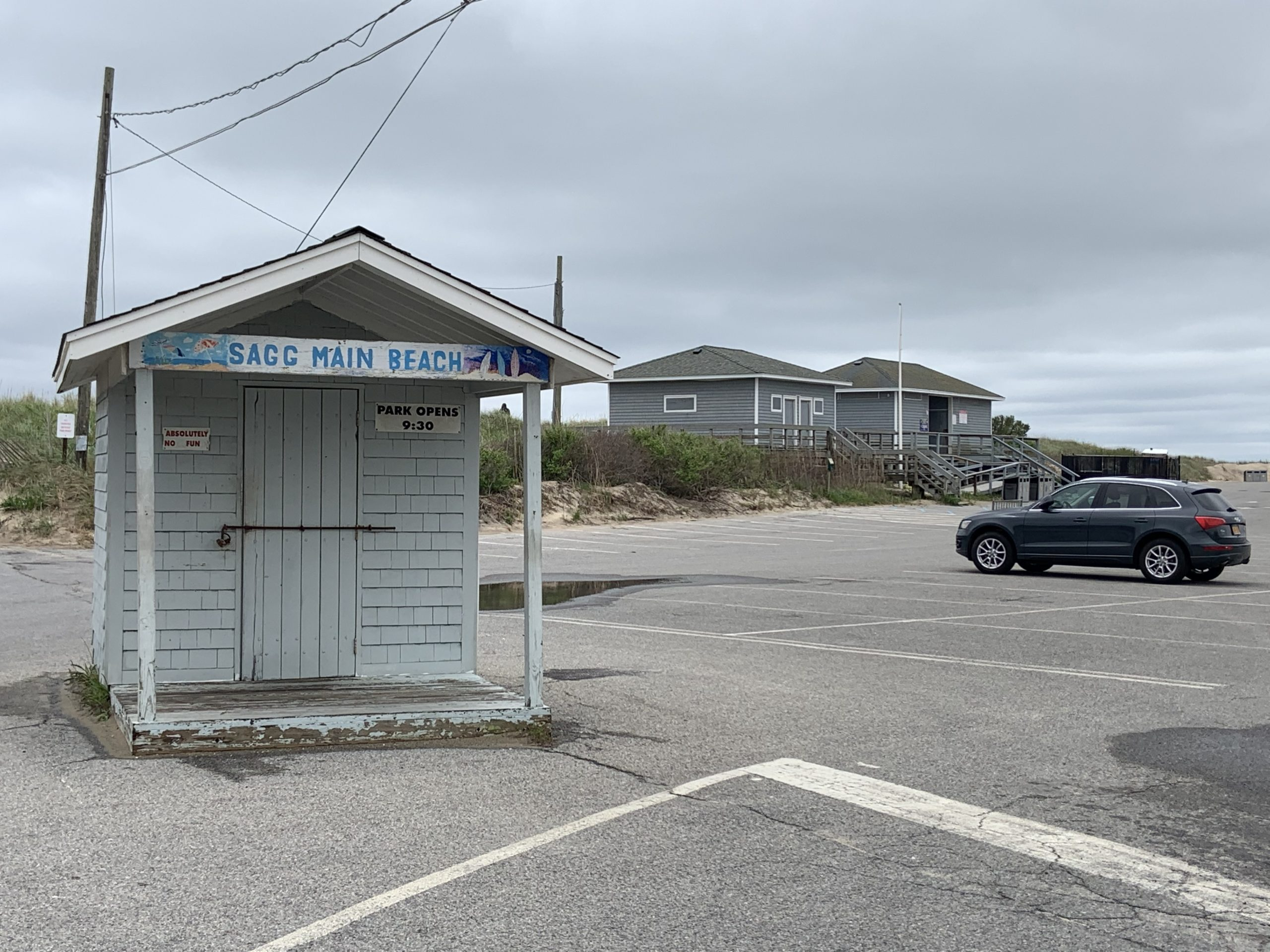 Residents of the the East Hampton Town side of Sag Harbor Village will get to use Sagg Main, Mecox, and Scott Cameron ocean beaches, as well as Long Beach at the same price as Southampton Town residents under a plan worked out this week. STEPHEN J. KOTZ