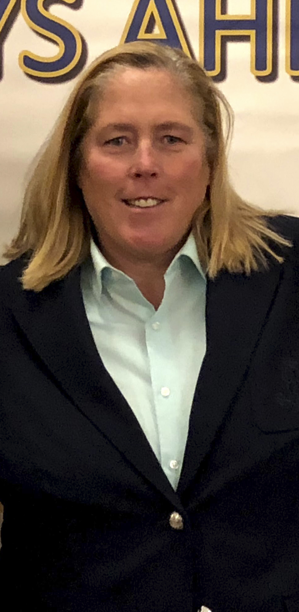 Westhampton Beach Athletic Director Kathy Masterson