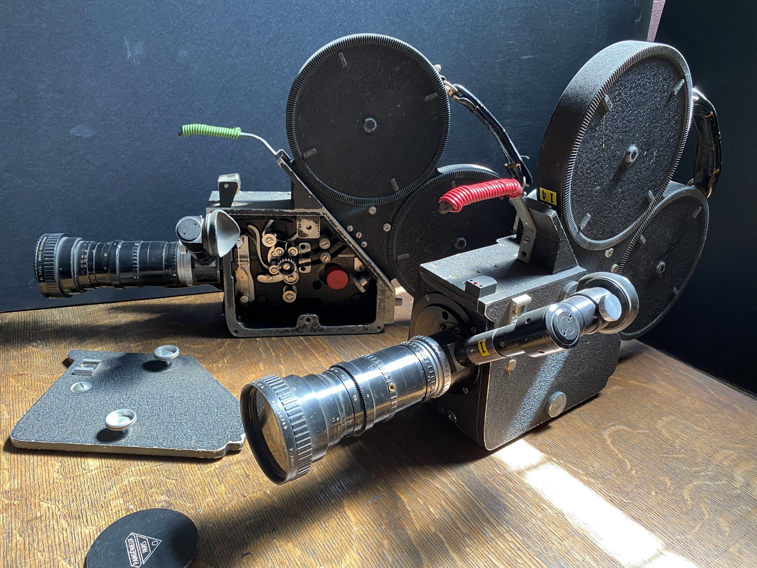 One of D.A. Pennebaker's 16mm cameras.