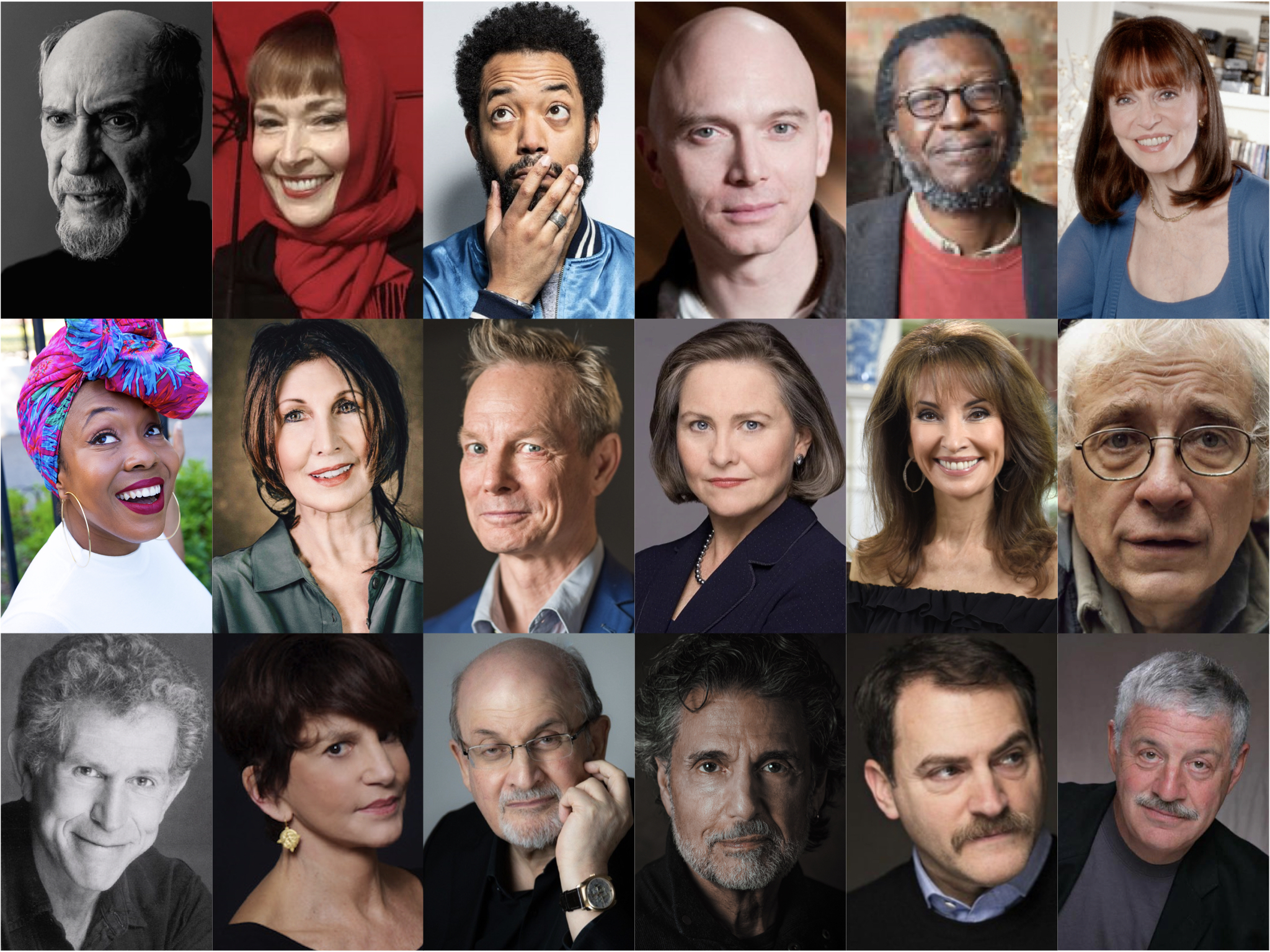 """In """"Reawakenings,"""" poems will be voiced by some of America's greatest actors while curated images from Guild Hall's permanent collection scroll on screen."""