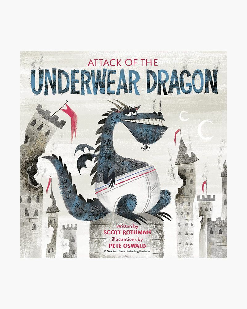 """Scott Rothman will read his book """"Attack of the Underwear Dragon"""" on May 8."""