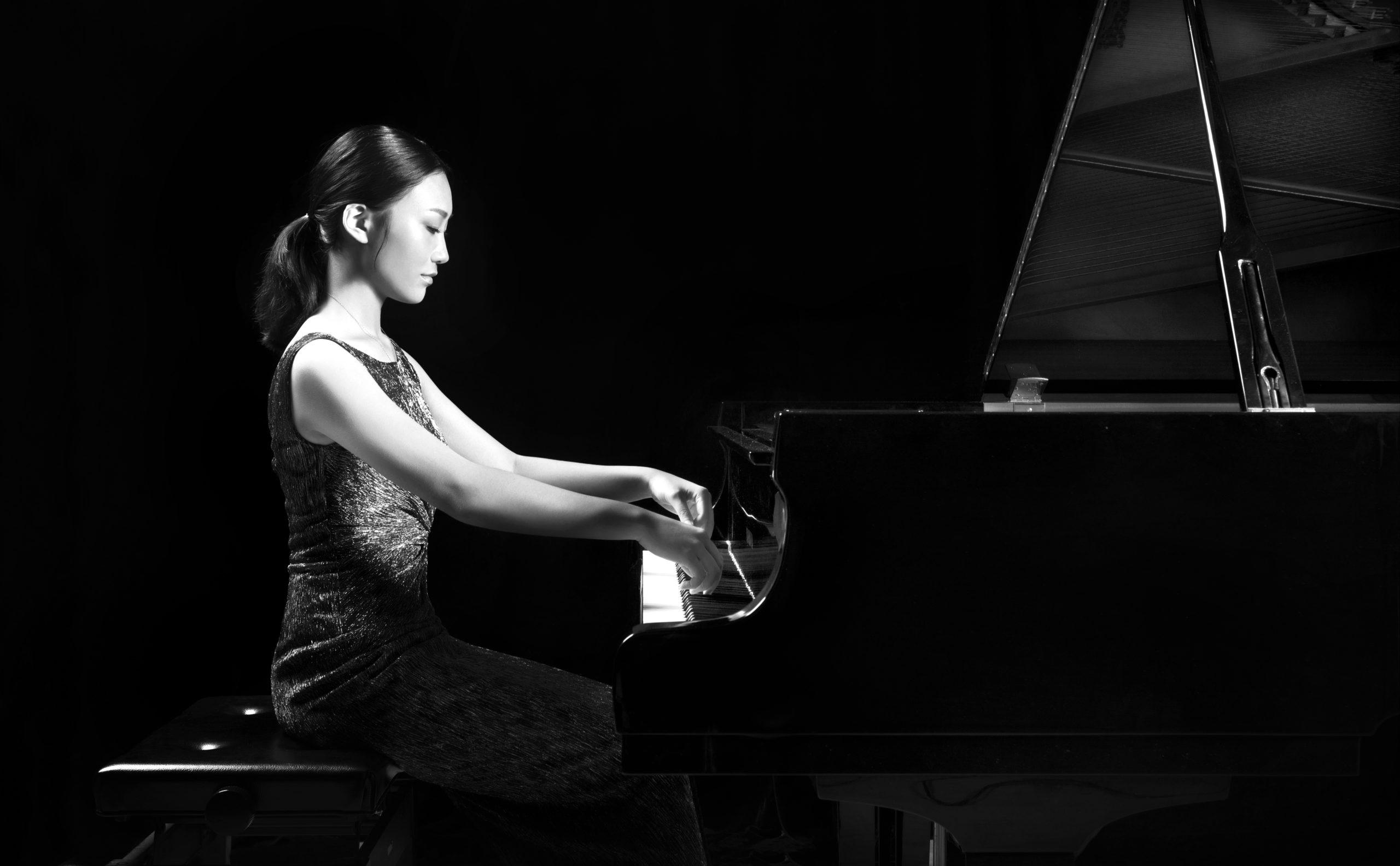 Pianist Wynona Wang.