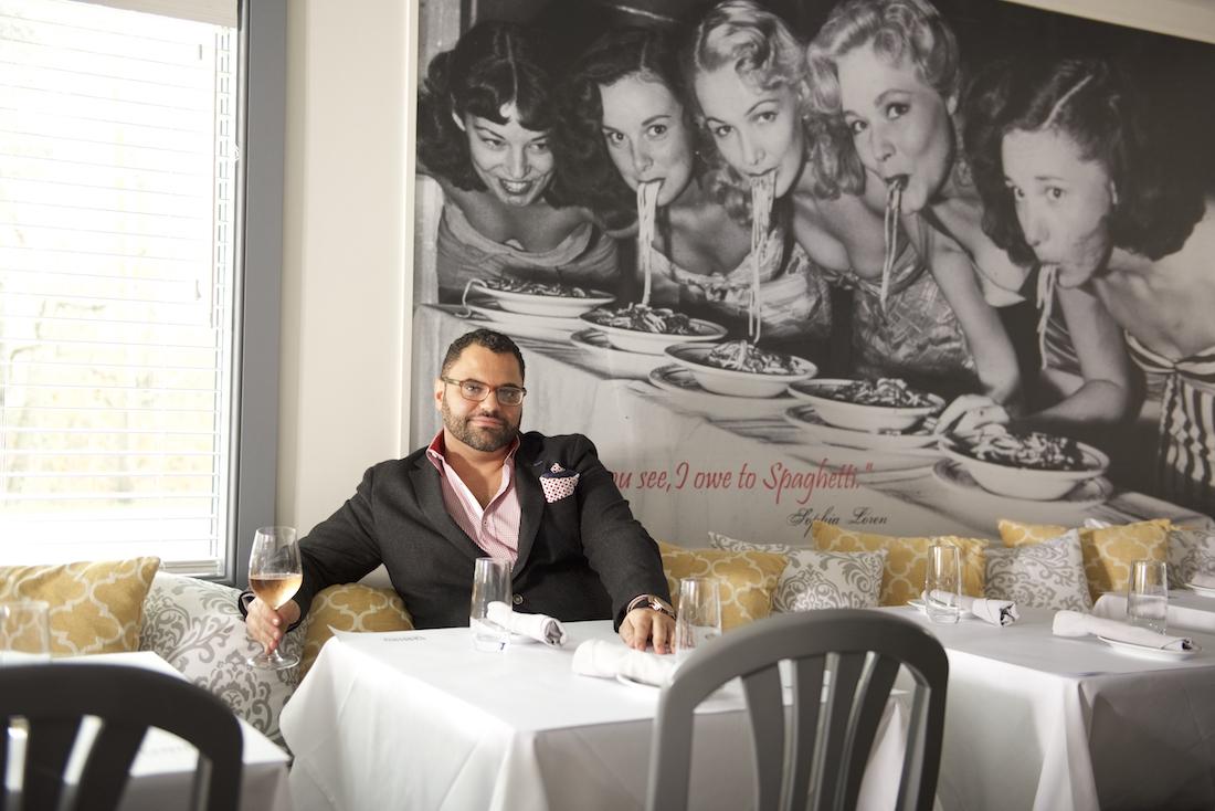 Salvatore Biundo, the owner of Centro Trattoria & Bar.
